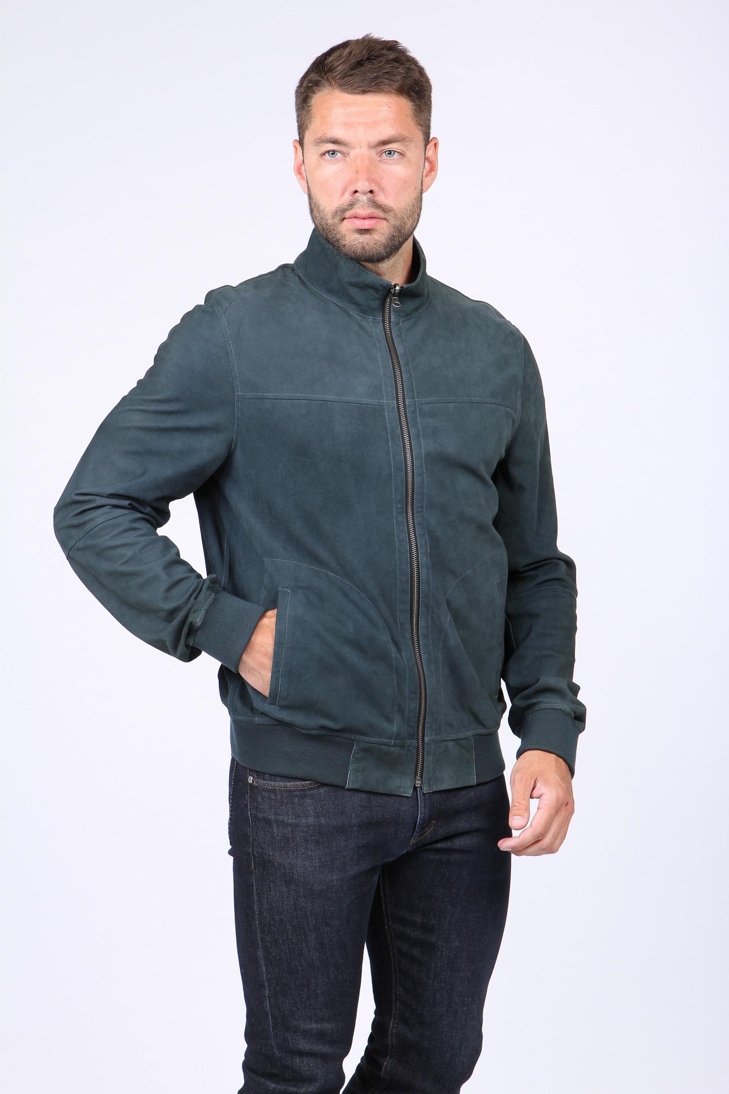 МОСМЕХА утепленная куртка из натуральной замши