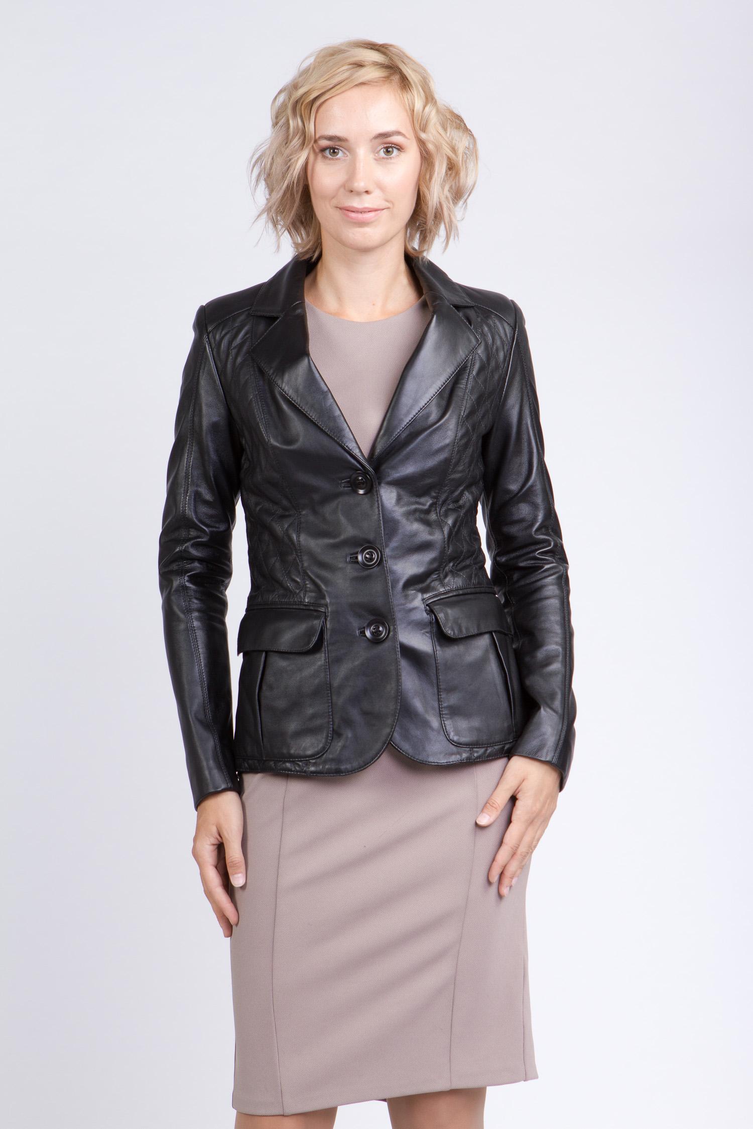 МОСМЕХА куртка жакет из натуральной кожи