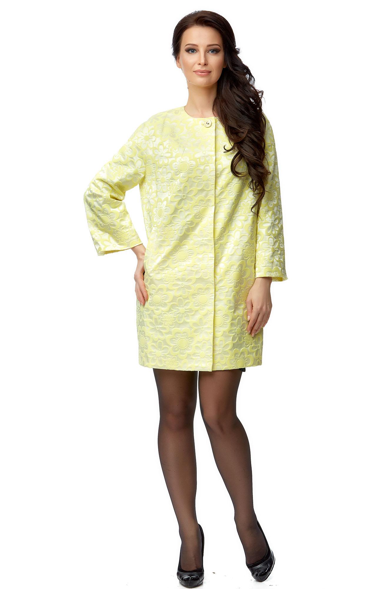 Женское пальто из текстиля