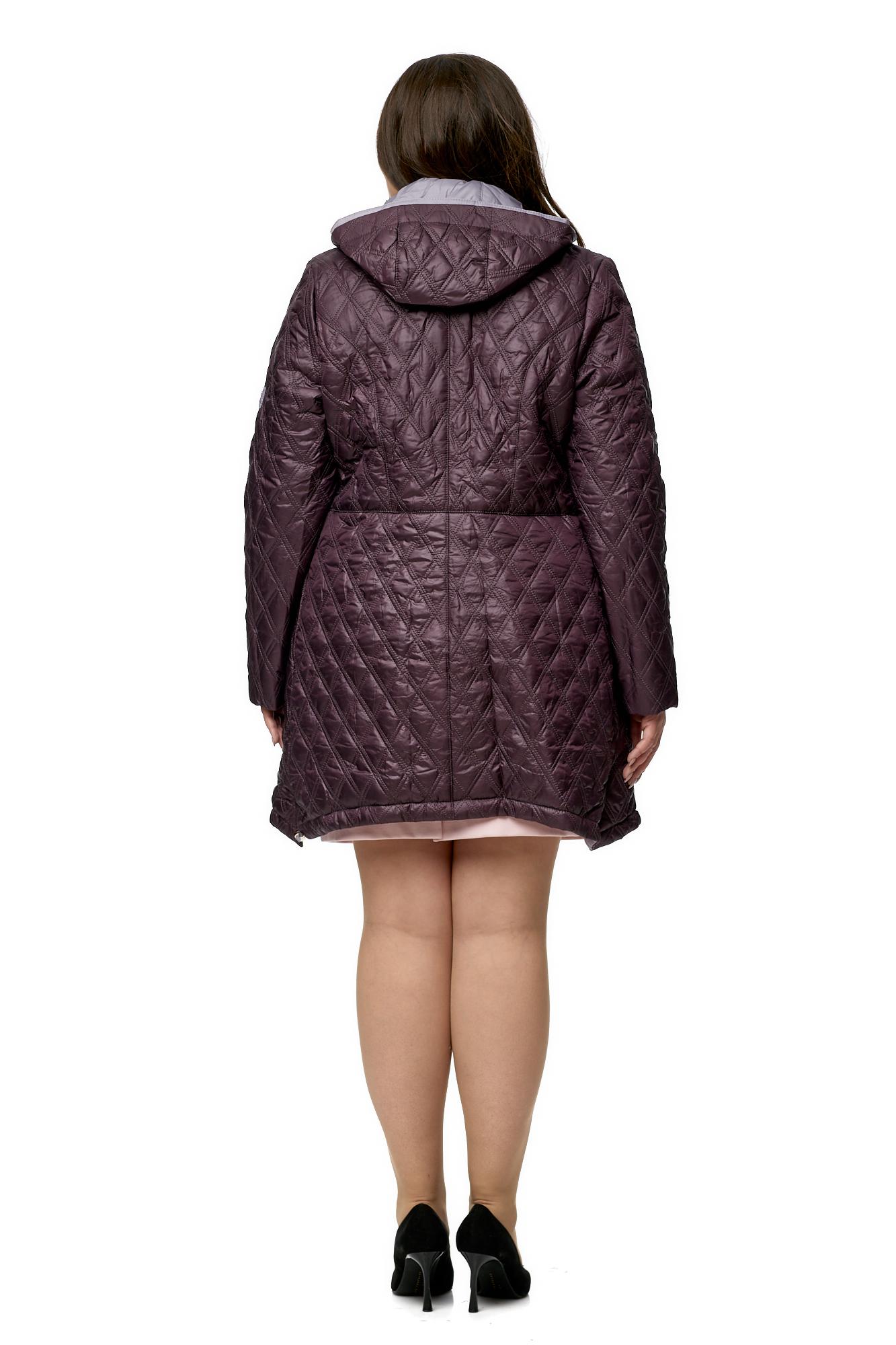 Куртка женская из текстиля с капюшоном фото 3