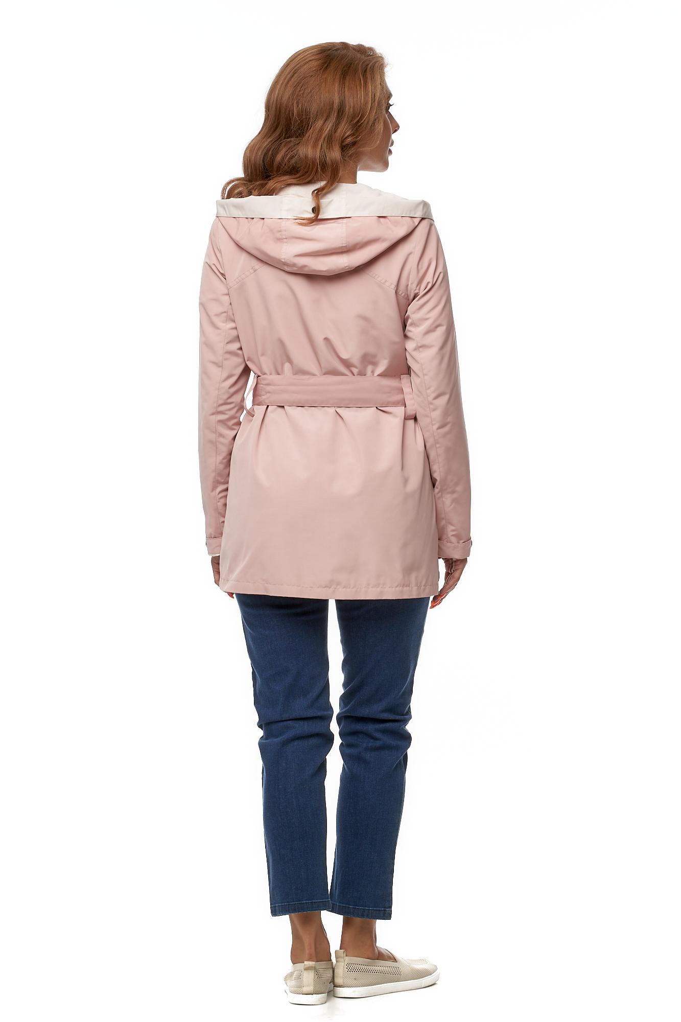 Куртка женская из текстиля с капюшоном фото 4