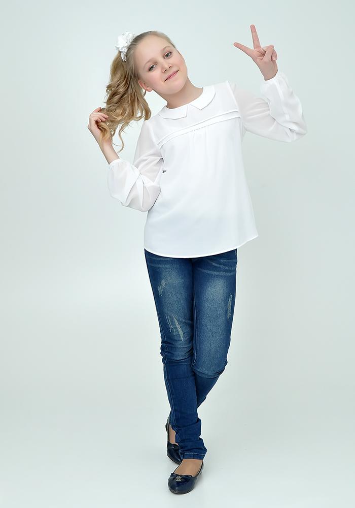 Купить со скидкой Блузка для девочек