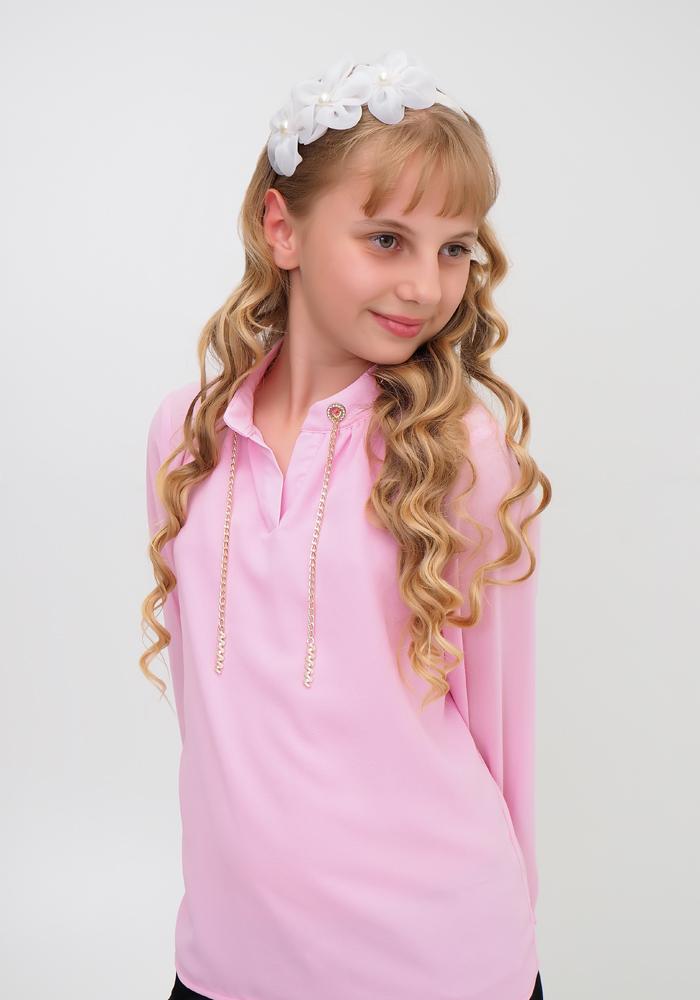 Блузка для девочек с цепочкой