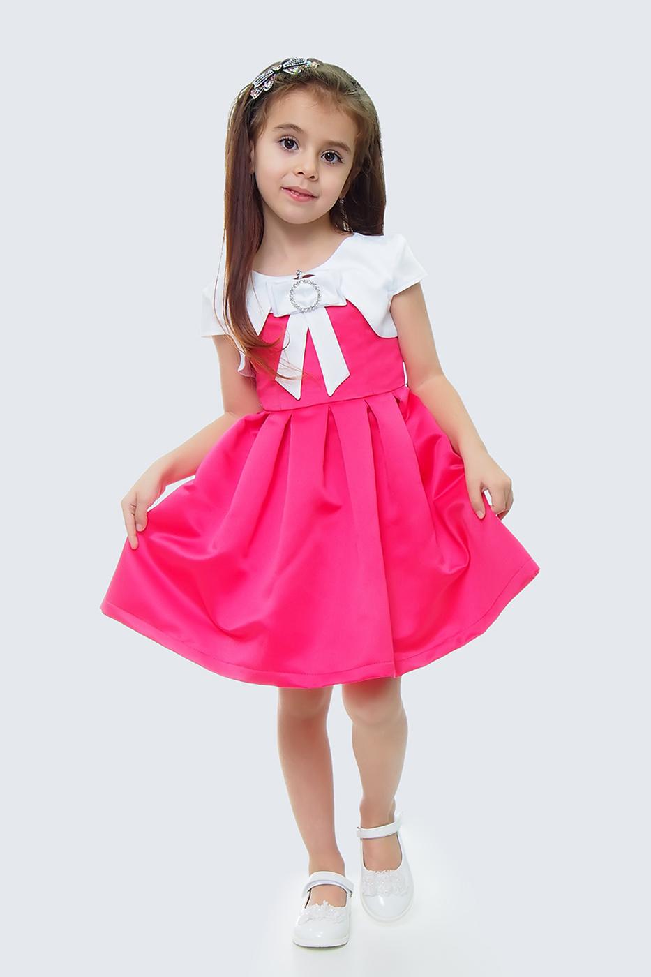 Купить Платье и болеро для девочек, МОСМЕХА, бордовый, 5100464
