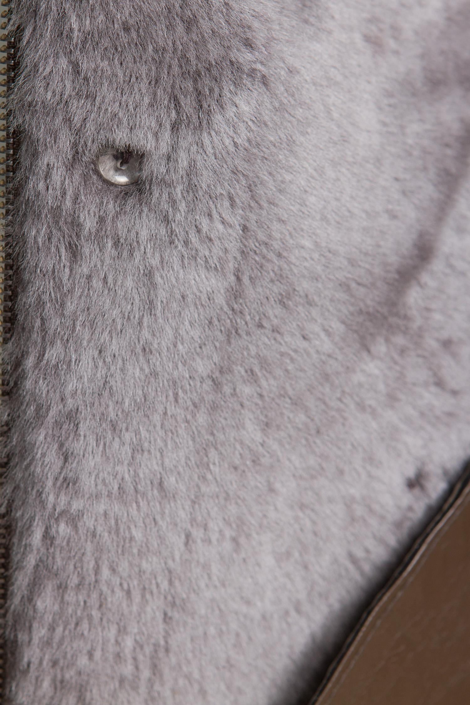 Норковая шуба с поясом