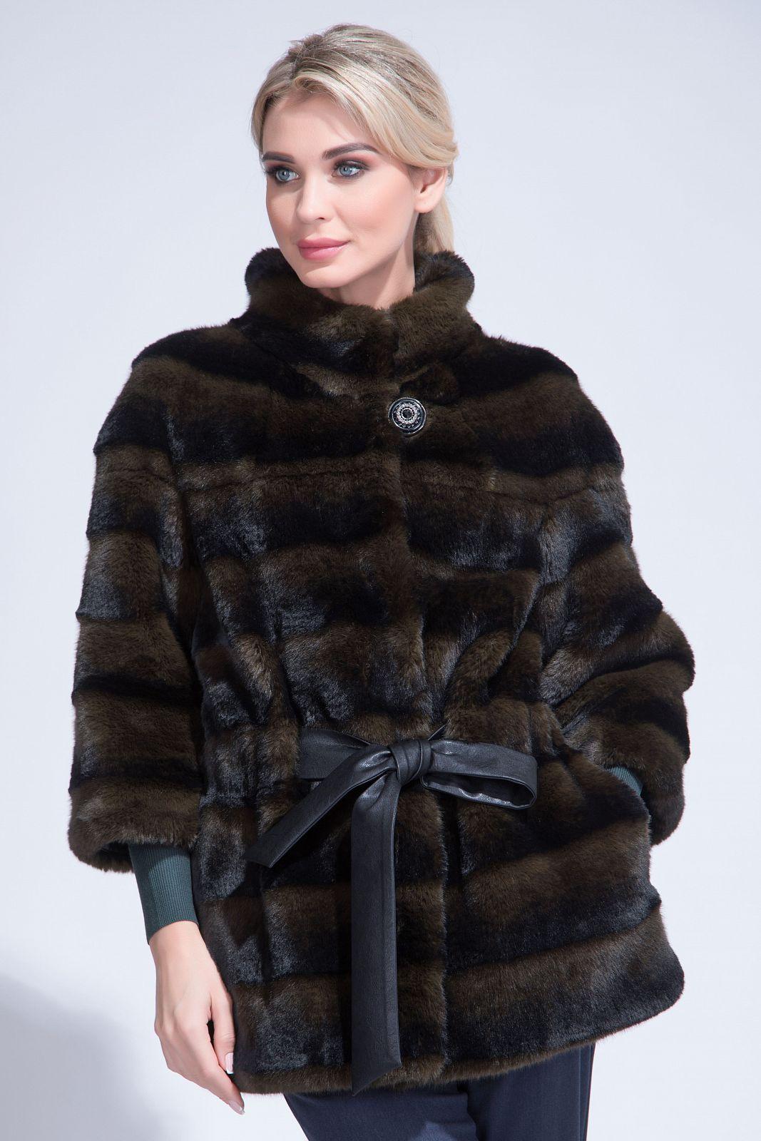 МОСМЕХА женская одежда из меха 2015 colete pi230