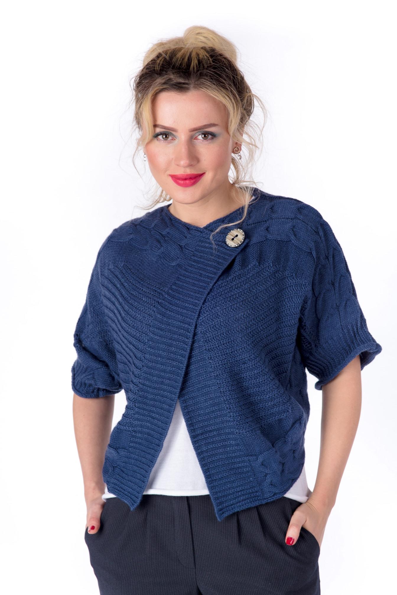 Женский жакет из текстиля, МОСМЕХА
