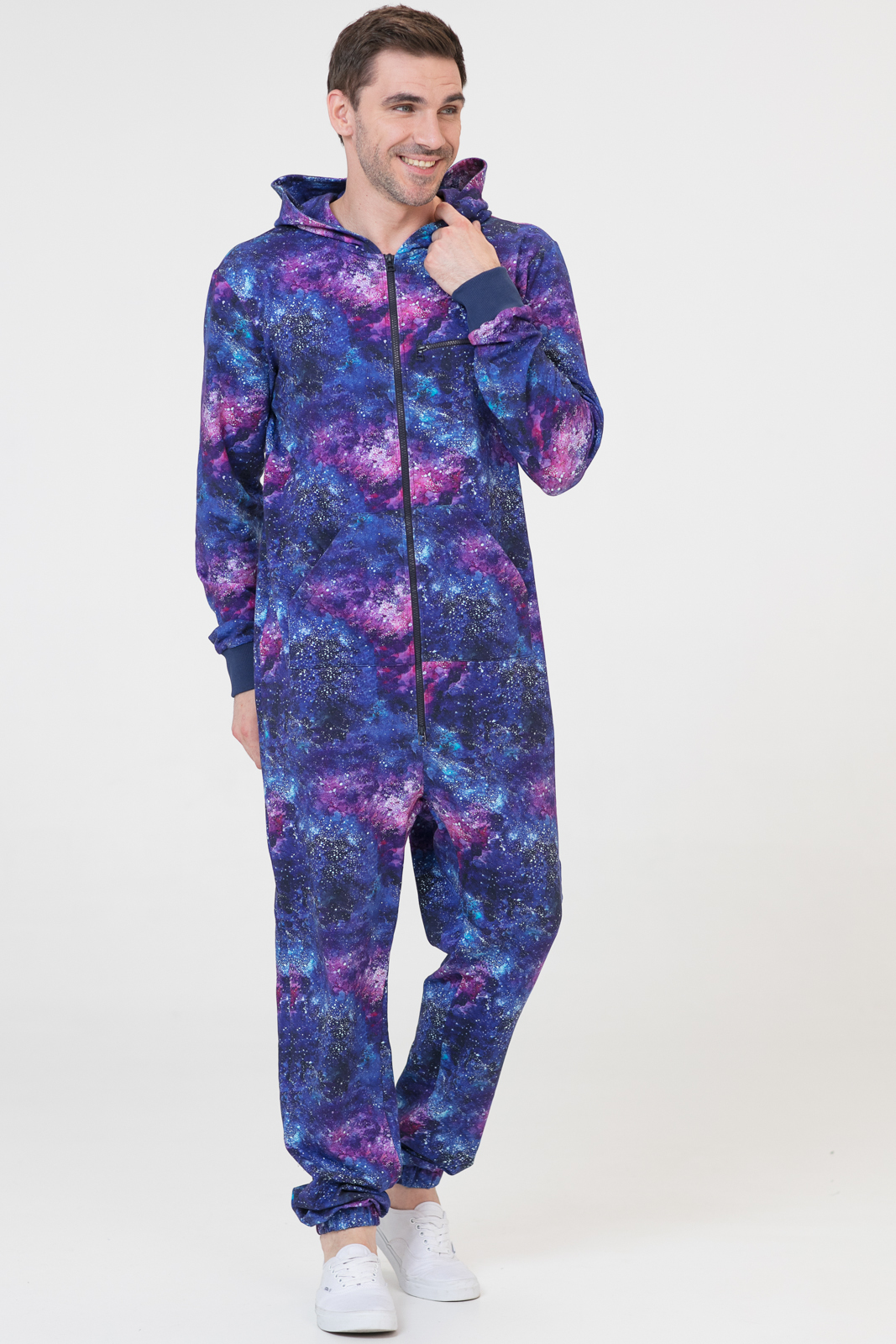 Купить Комбинезон Basic 2.0 синий мужской из текстиля, МОСМЕХА, 6600109