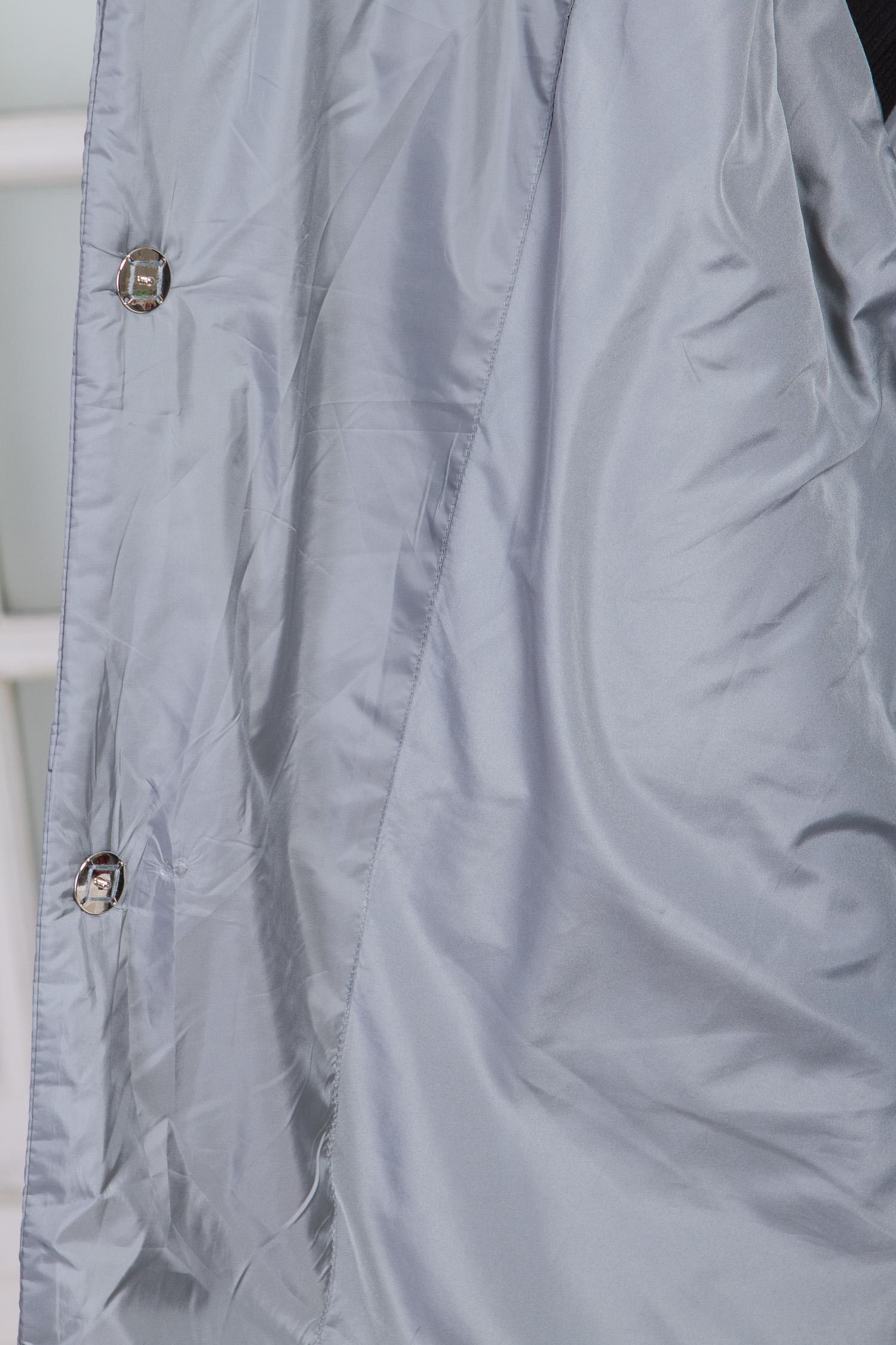 Куртка женская из текстиля с воротником, без отделки, , Полупальто