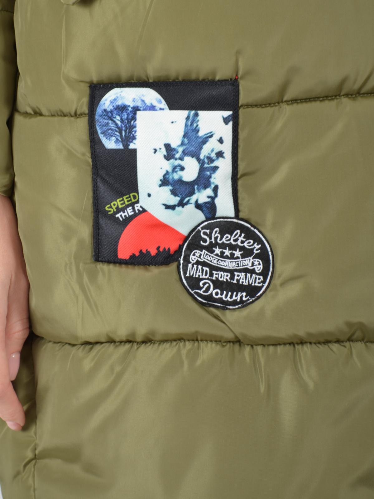 Женское пальто из текстиля , без отделки