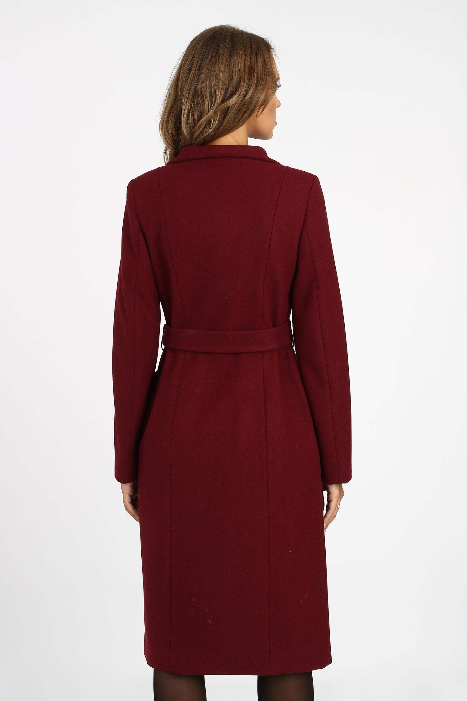 Женское пальто из текстиля с капюшоном,  отделка шерсть