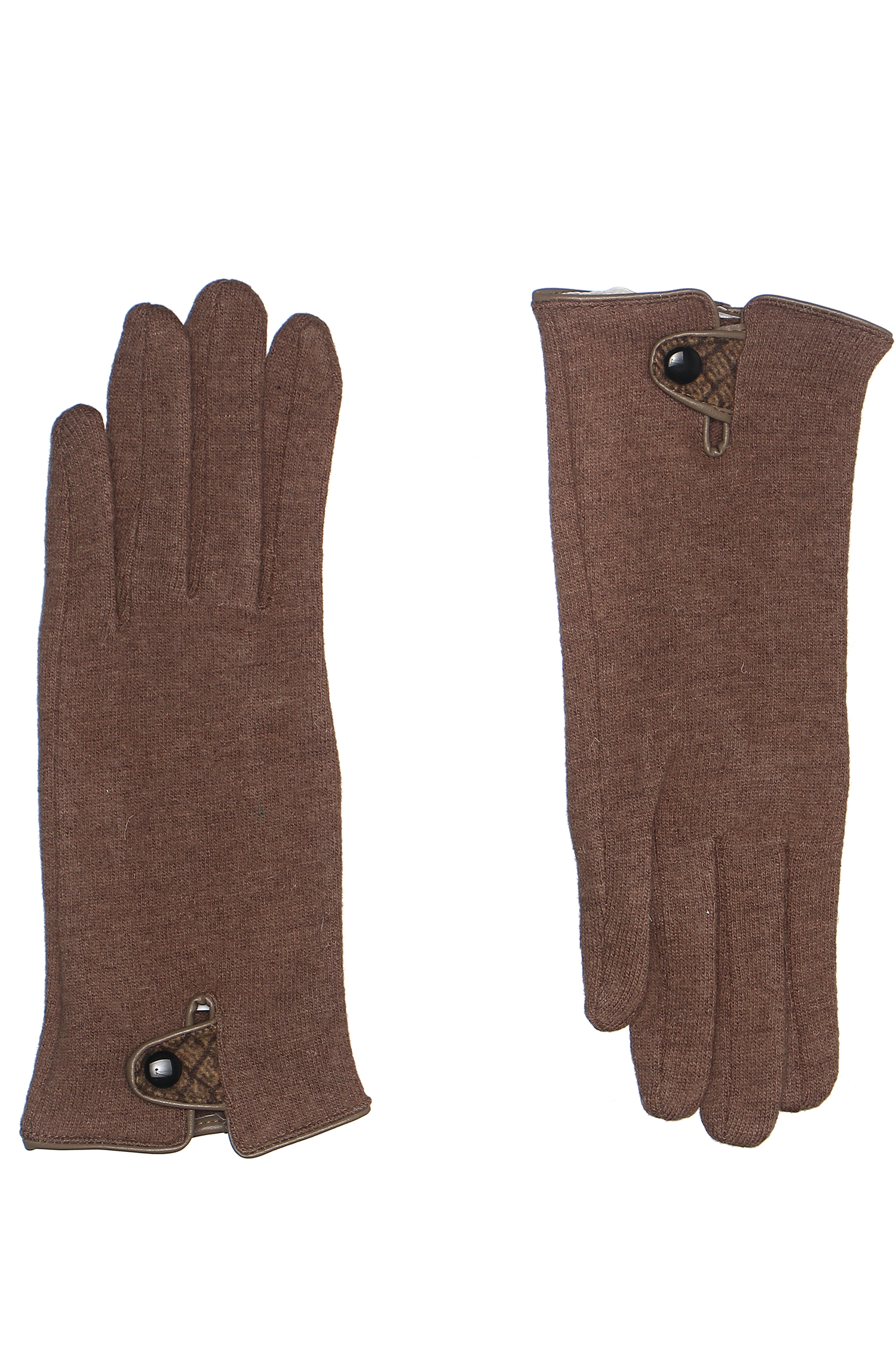 Перчатки женские из трикотажа