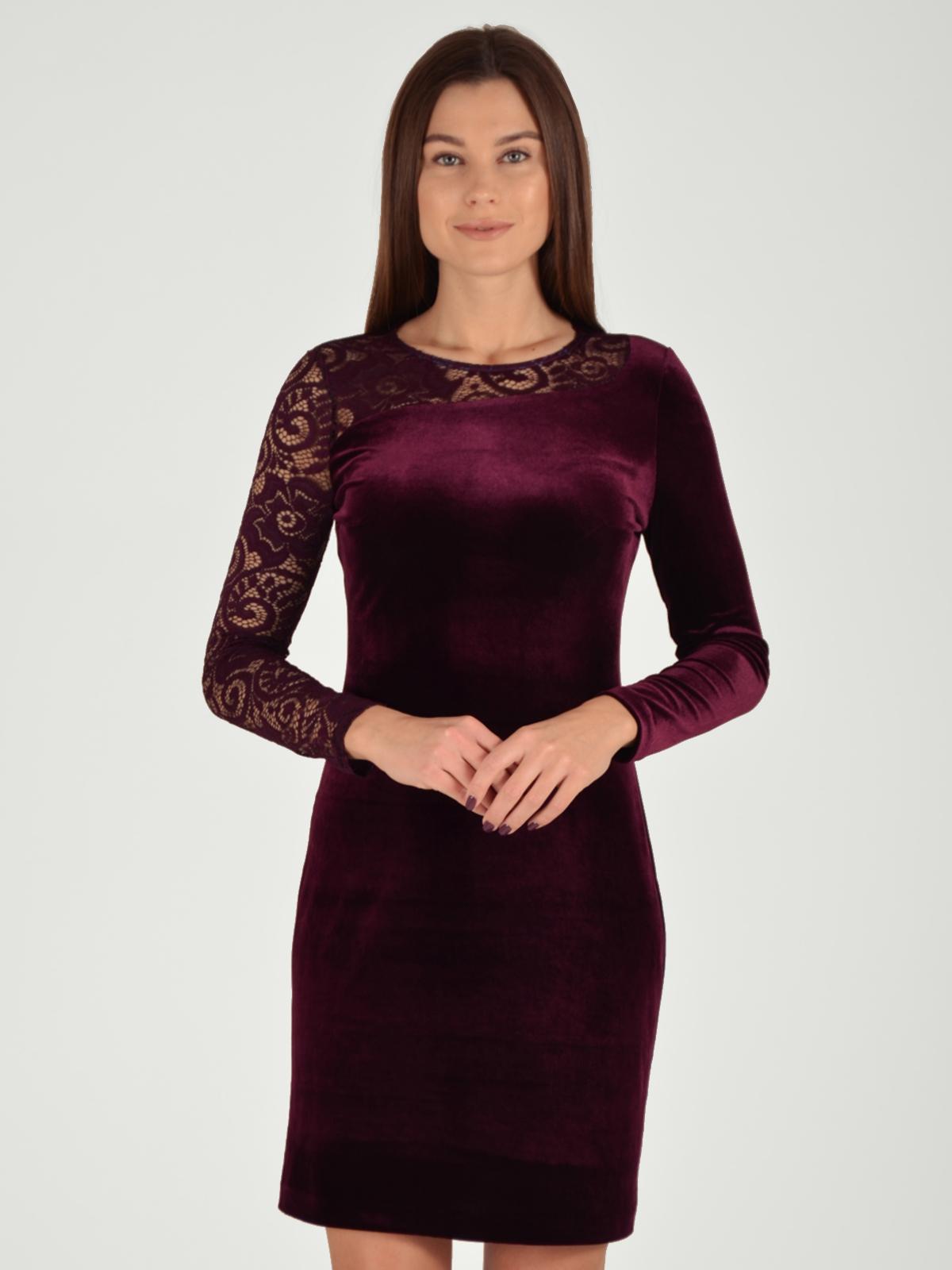 Фото #1: Платье женское из текстиля