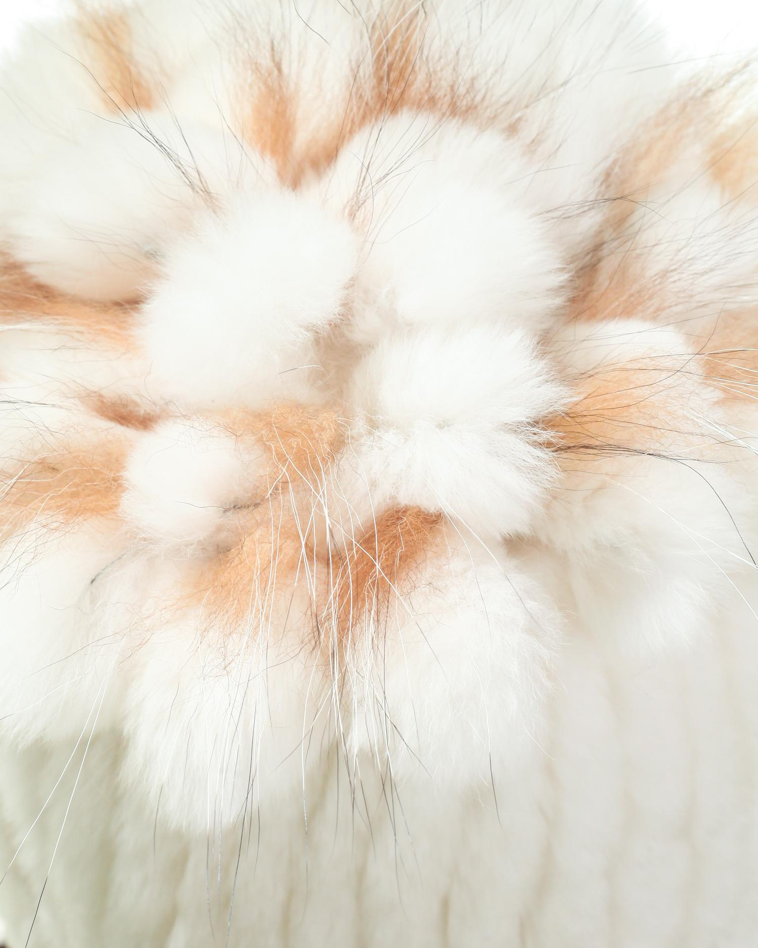 Шапка женская из кролика