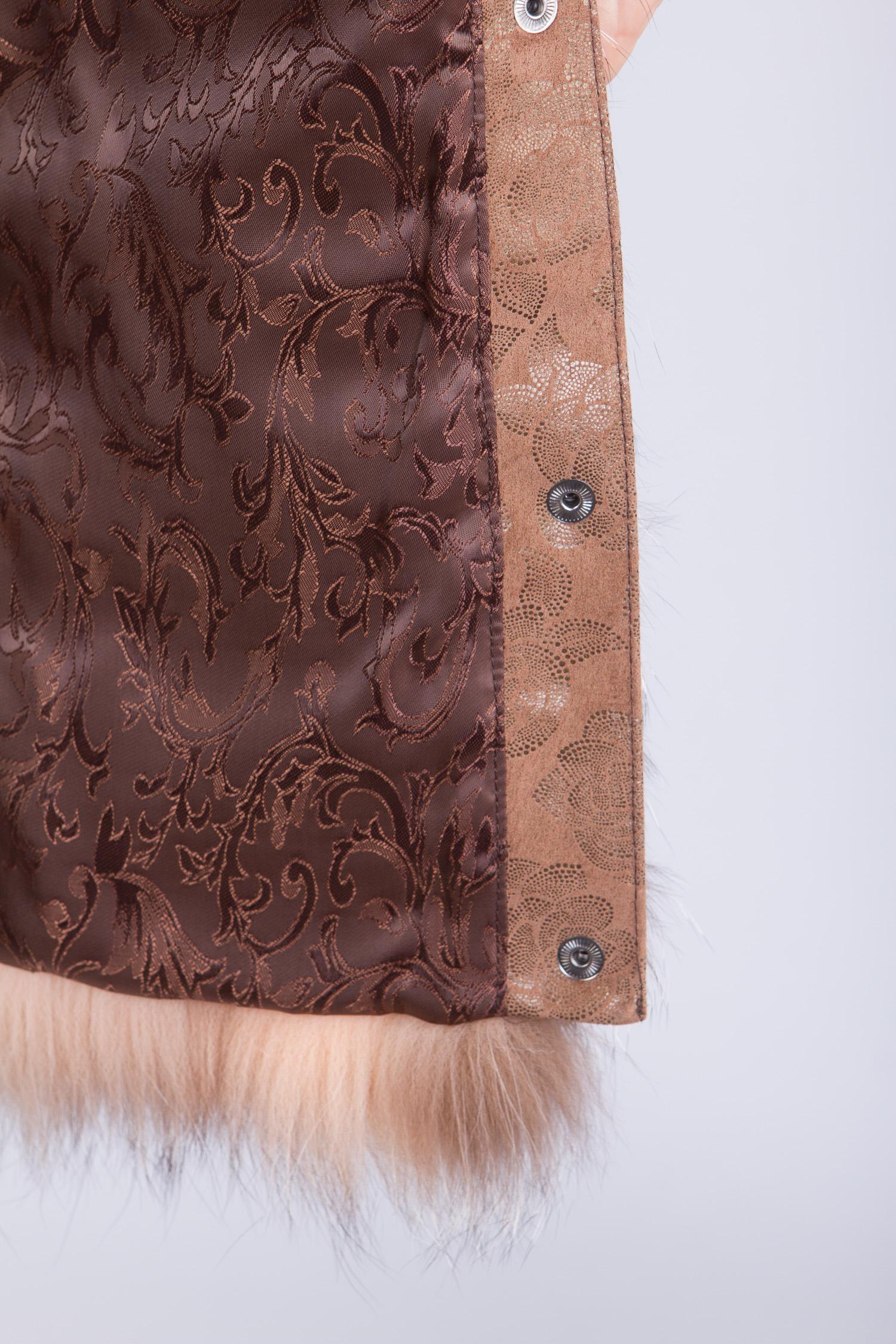 Меховой жилет из лисы от Московская Меховая Компания