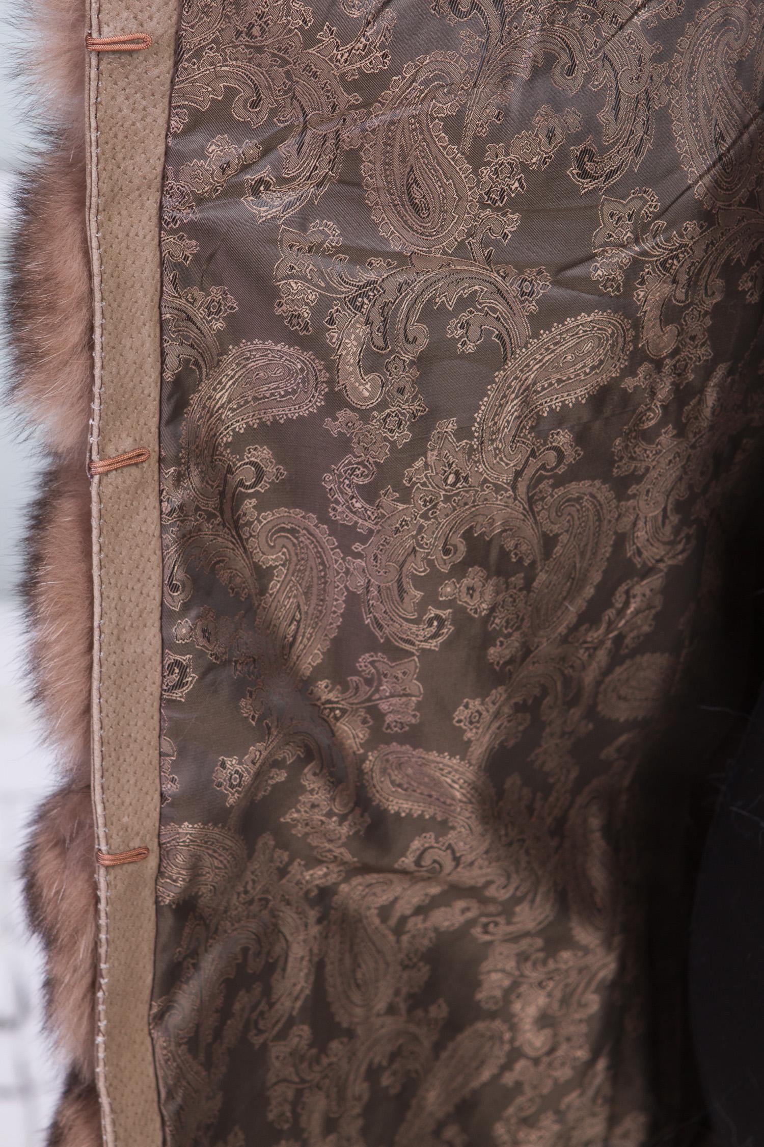 Меховой жилет из песца от Московская Меховая Компания