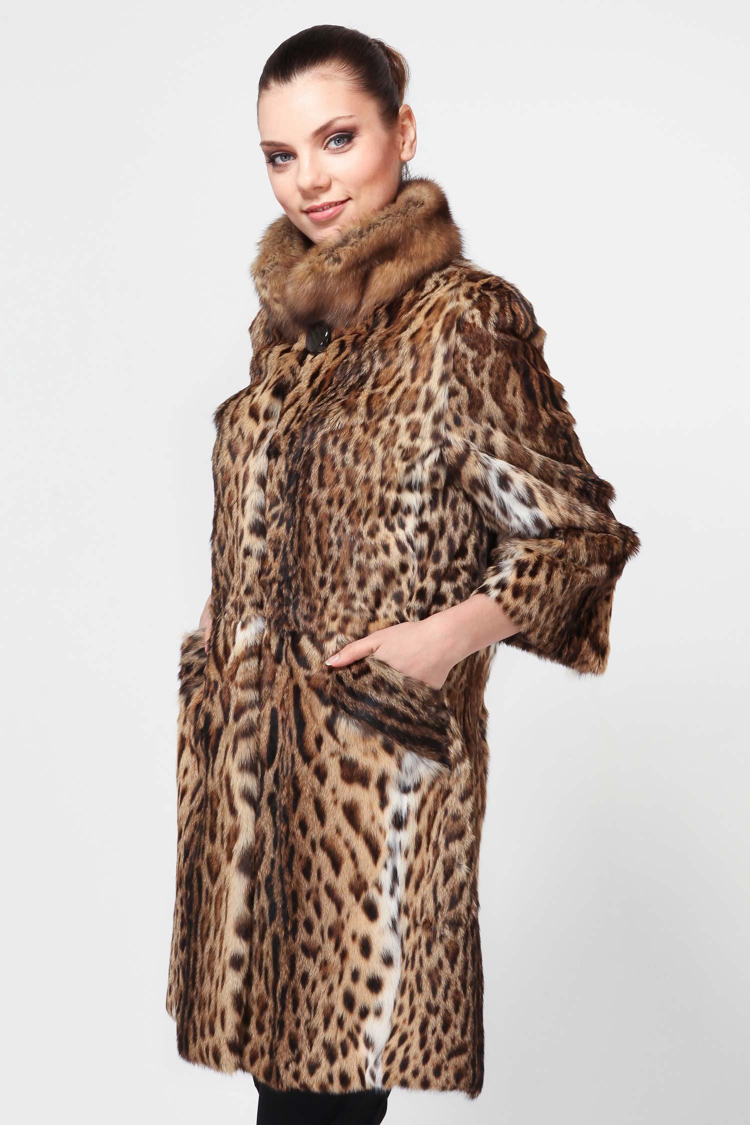 шубы леопард фото