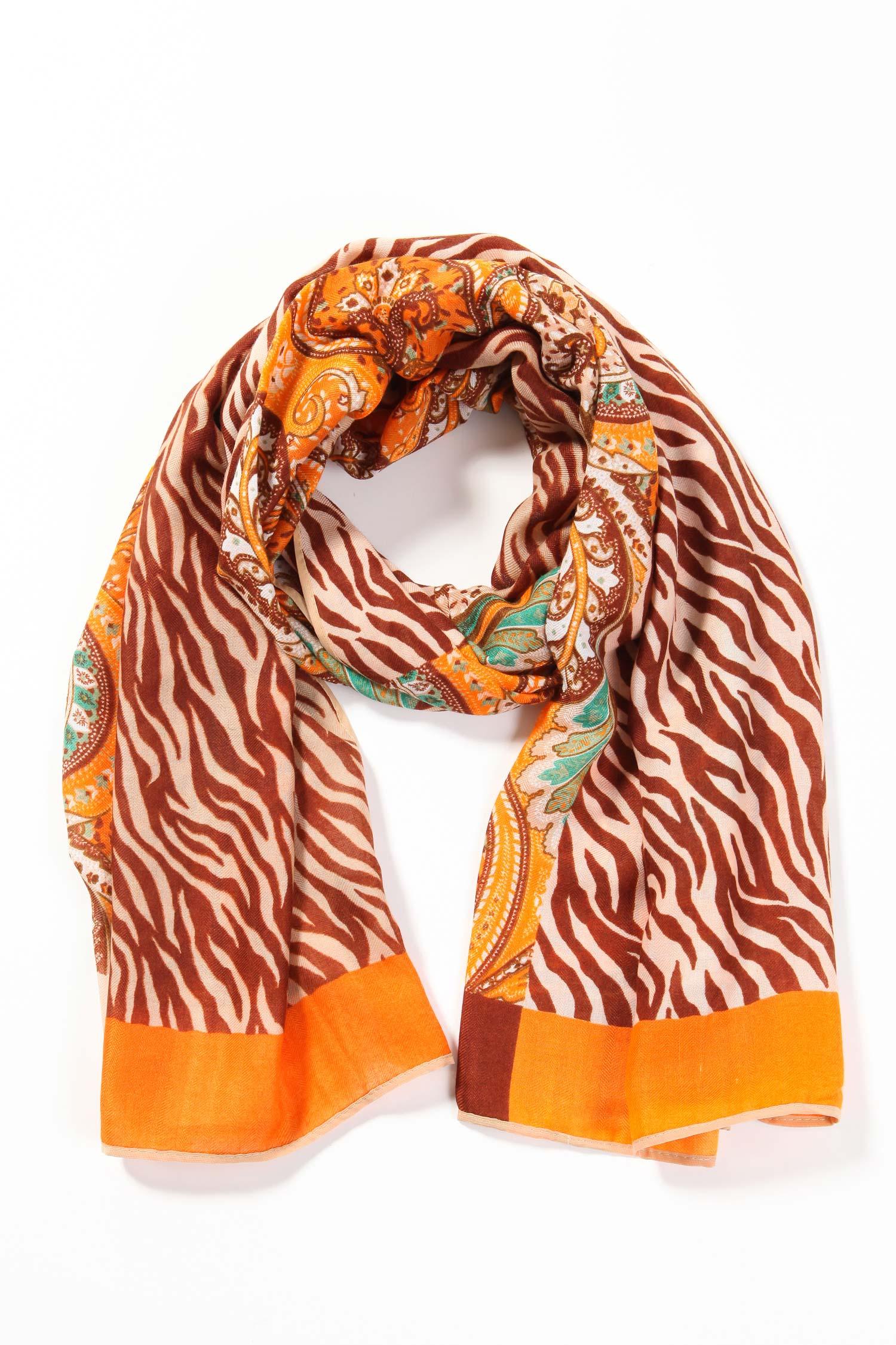 Шарф из текстиля<br><br>Материал: 100% полиэстер