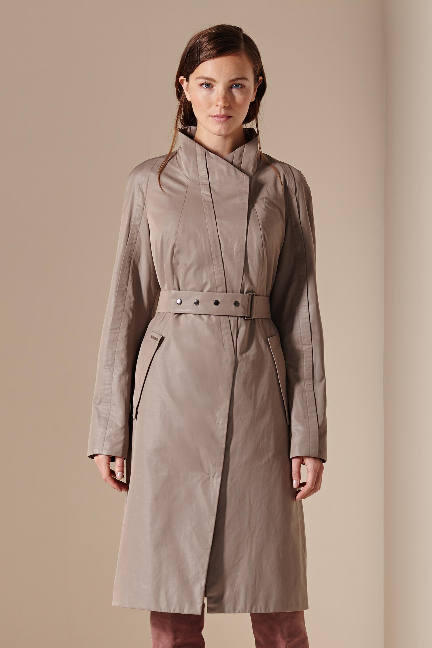 Женское пальто с воротником, без отделки<br><br>Воротник: стойка<br>Длина см: Длинная (свыше 90)<br>Материал: Текстиль<br>Цвет: бежевый<br>Вид застежки: центральная<br>Застежка: на кнопки<br>Пол: Женский<br>Размер RU: 56