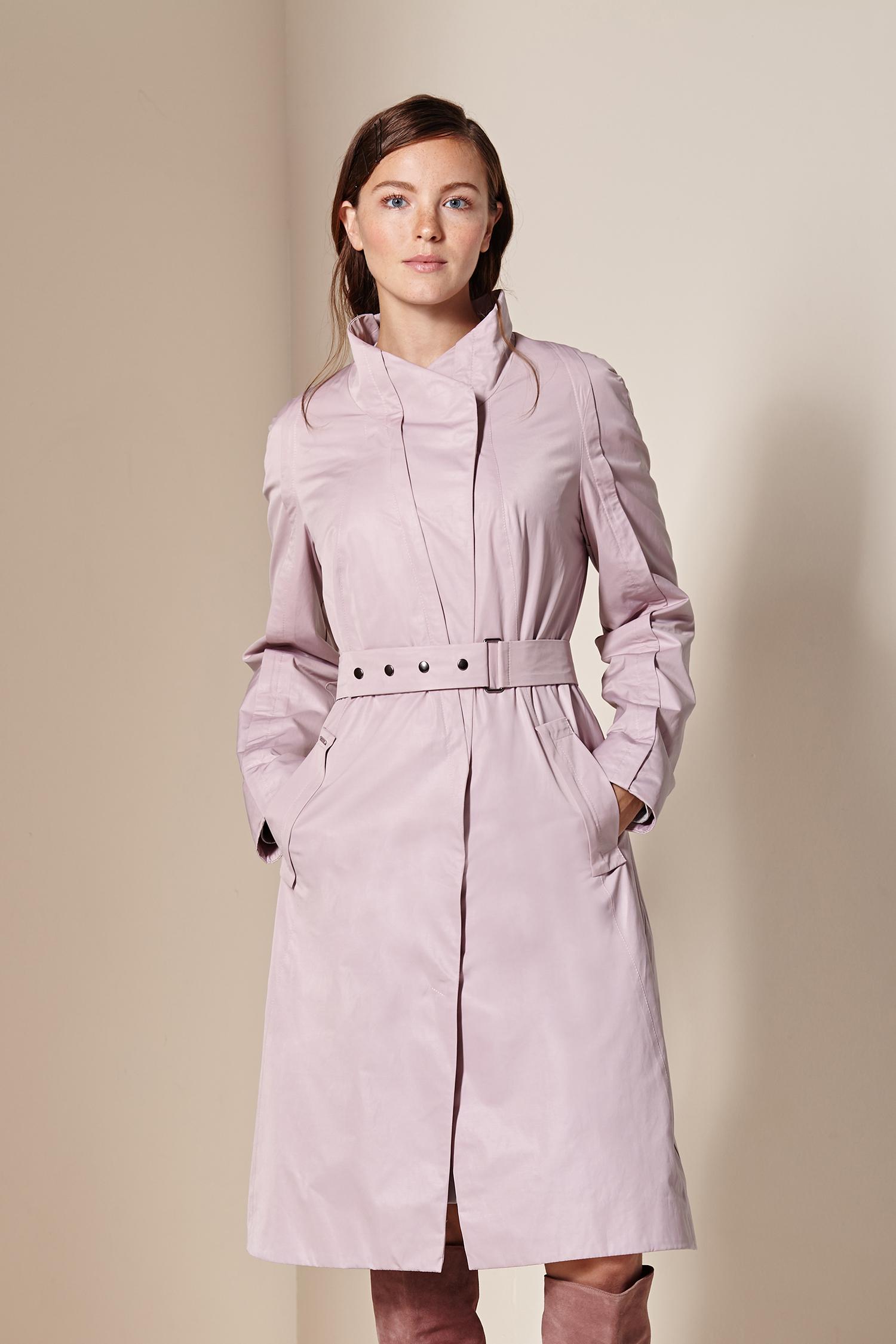 Женское пальто с воротником, без отделки<br><br>Воротник: стойка<br>Длина см: Длинная (свыше 90)<br>Материал: Текстиль<br>Цвет: розовый<br>Вид застежки: центральная<br>Застежка: на кнопки<br>Пол: Женский<br>Размер RU: 56