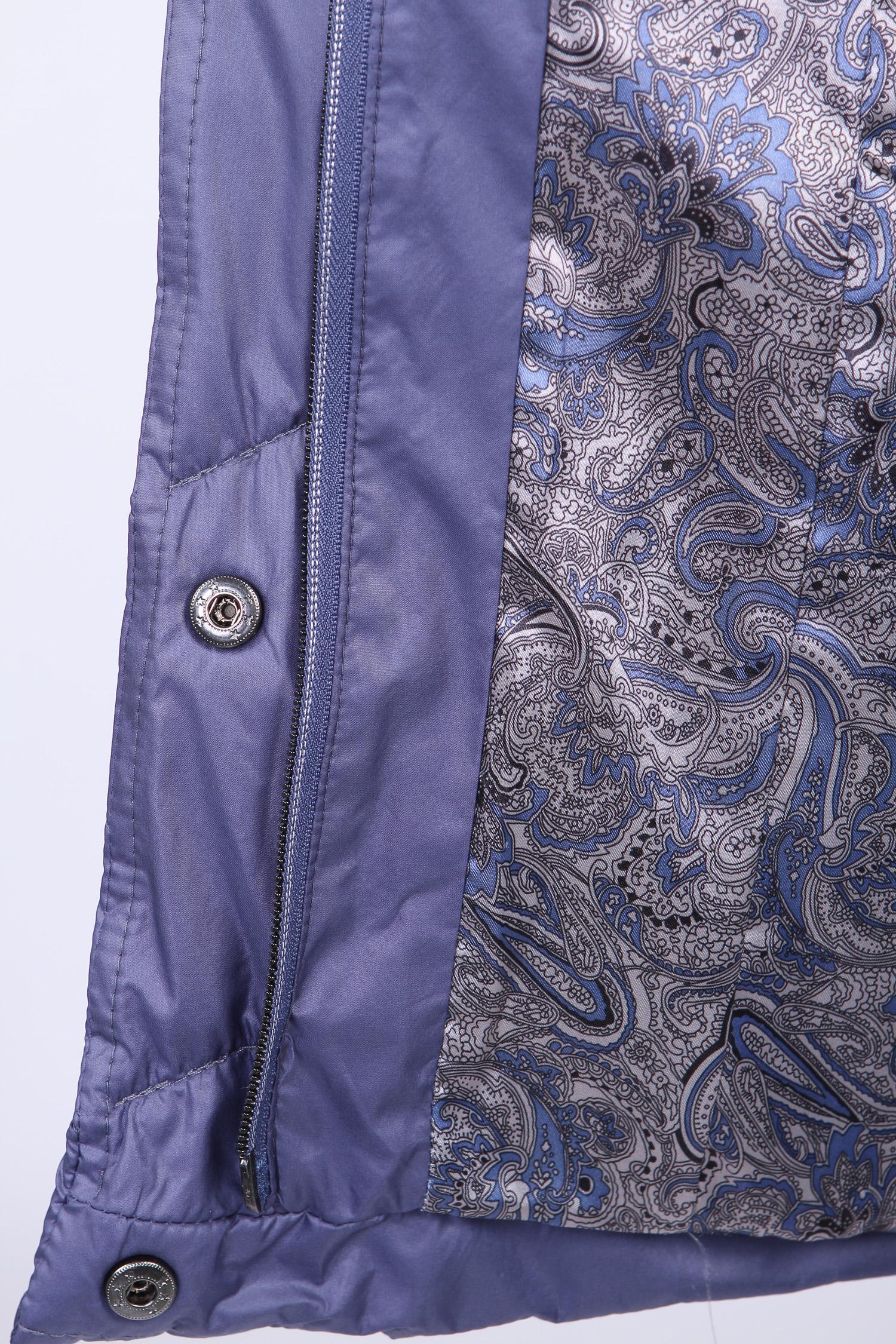 Женская куртка из текстиля с воротником, без отделки от Московская Меховая Компания