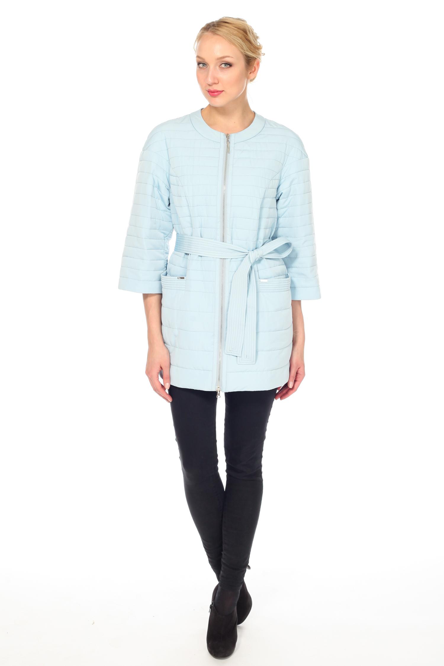 Куртка женская из текстиля с воротником, без отделки от Московская Меховая Компания