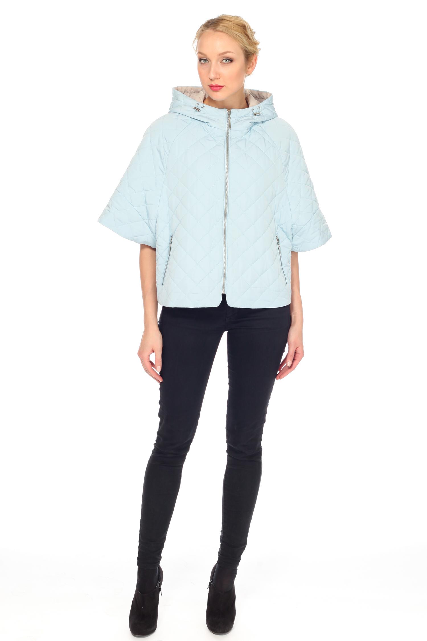Куртка женская из текстиля с капюшоном, без отделки от Московская Меховая Компания