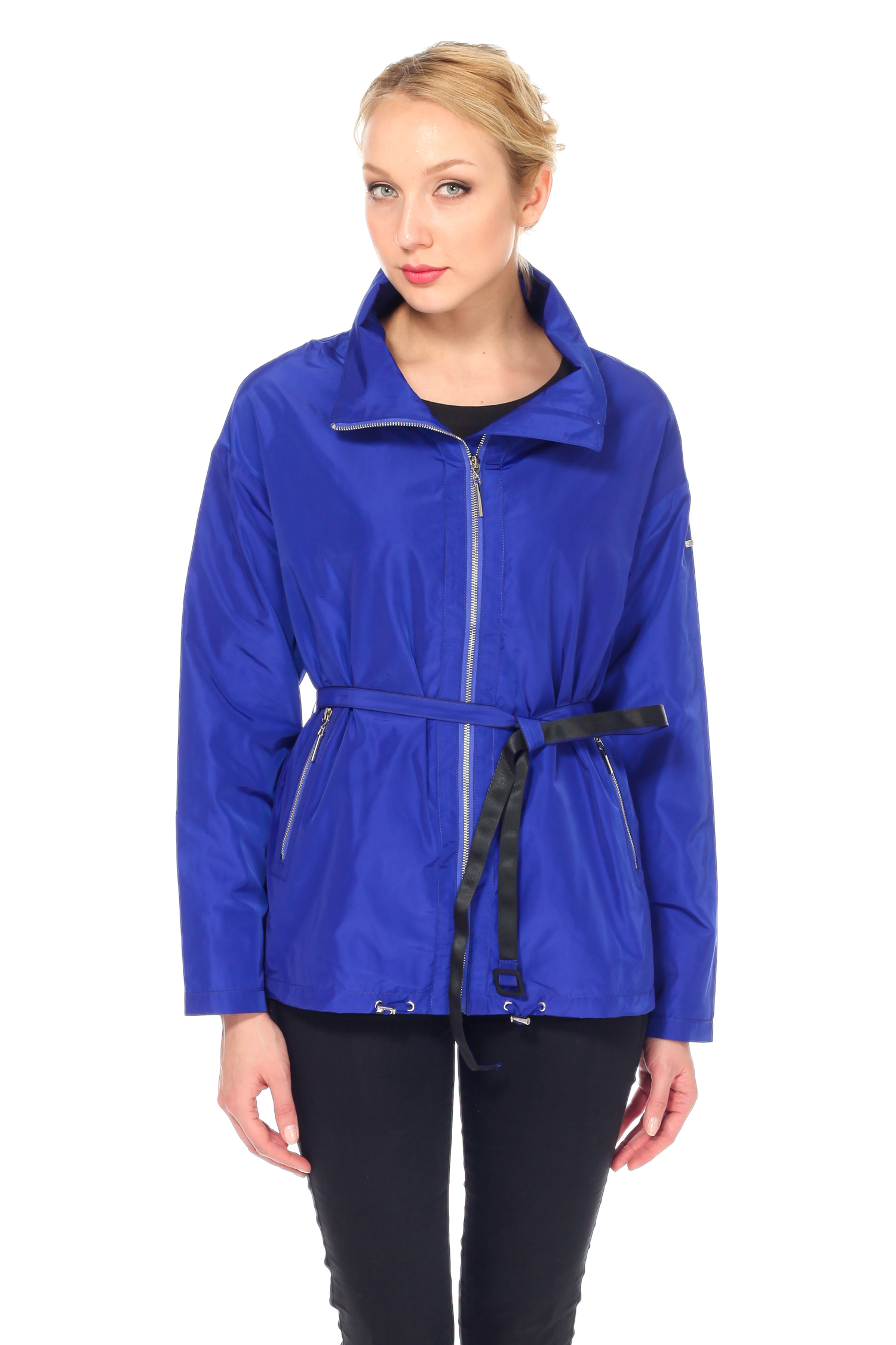 Куртка женская из текстиля с воротником, без отделки. Производитель: Московская Меховая Компания, артикул: 6665