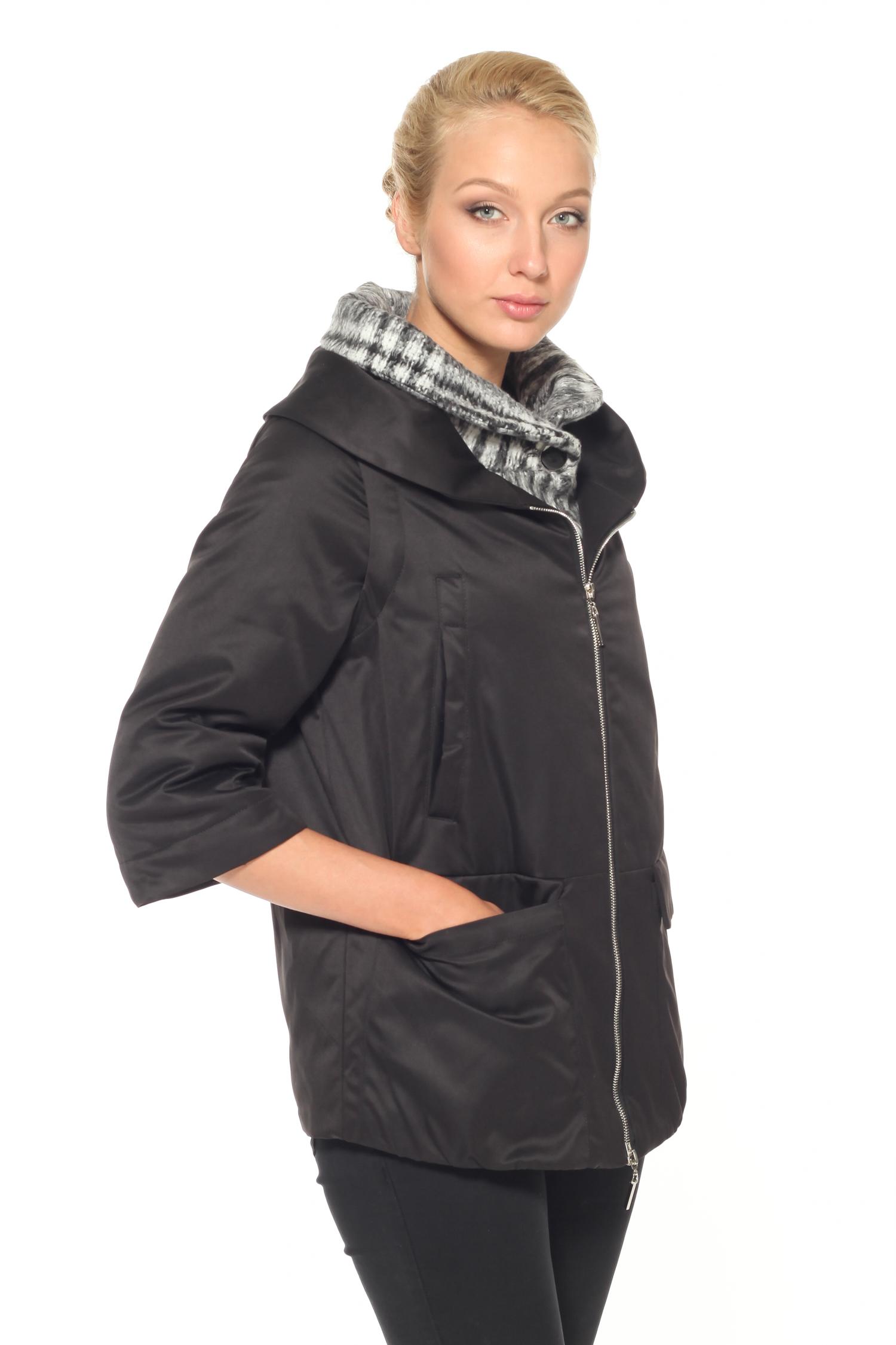 Куртка женская с воротником, без отделки от Московская Меховая Компания