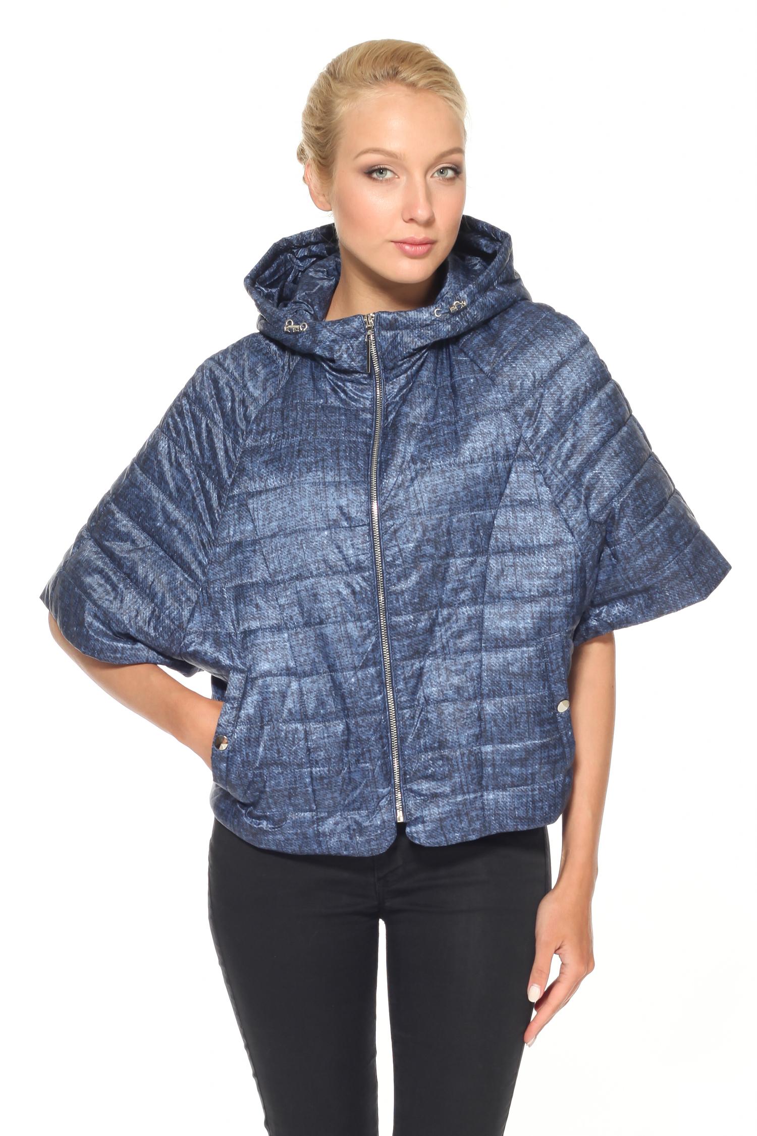 Куртка женская с капюшоном, без отделки