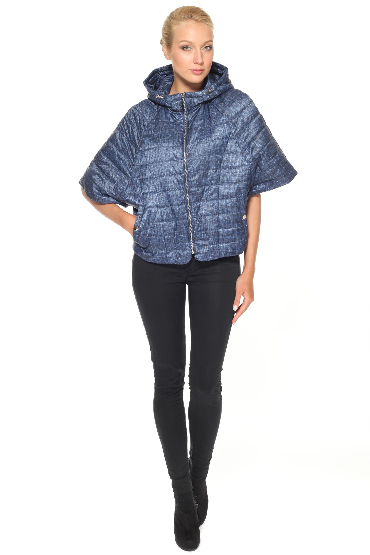 Куртка женская с капюшоном, без отделки от Московская Меховая Компания