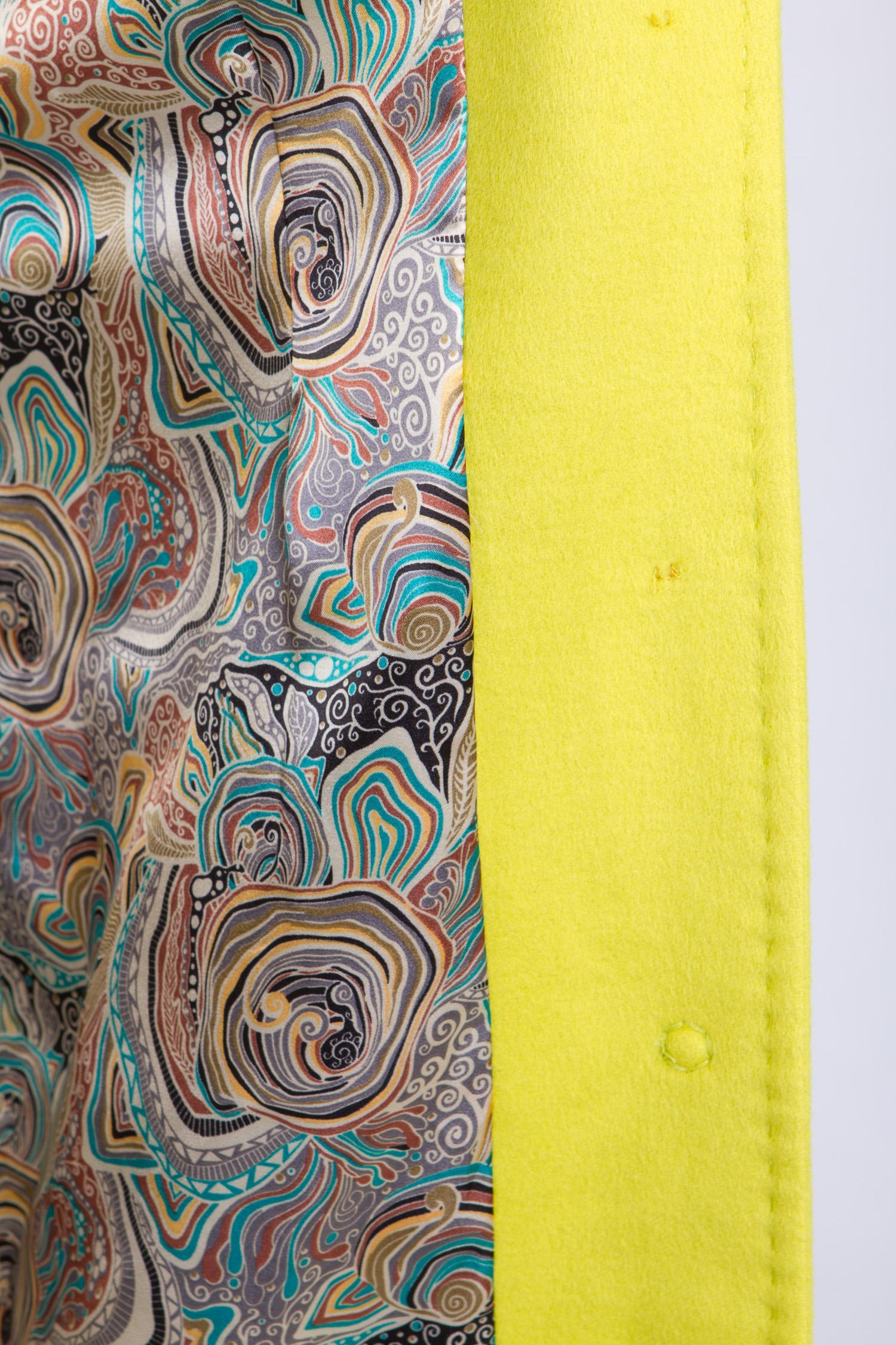 Женское пальто без воротника, без отделки от Московская Меховая Компания