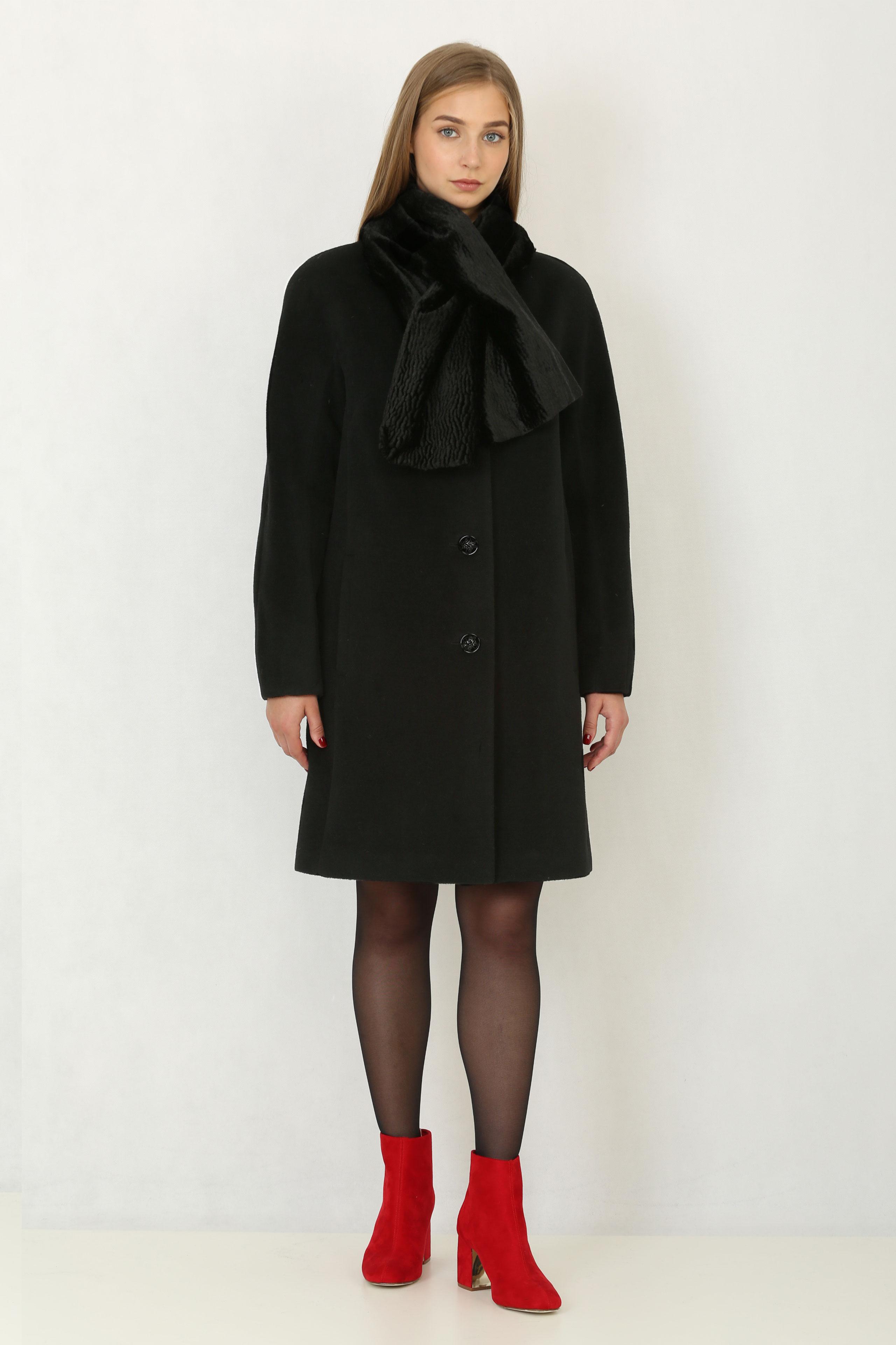 Купить со скидкой Женское пальто с капюшоном, без отделки