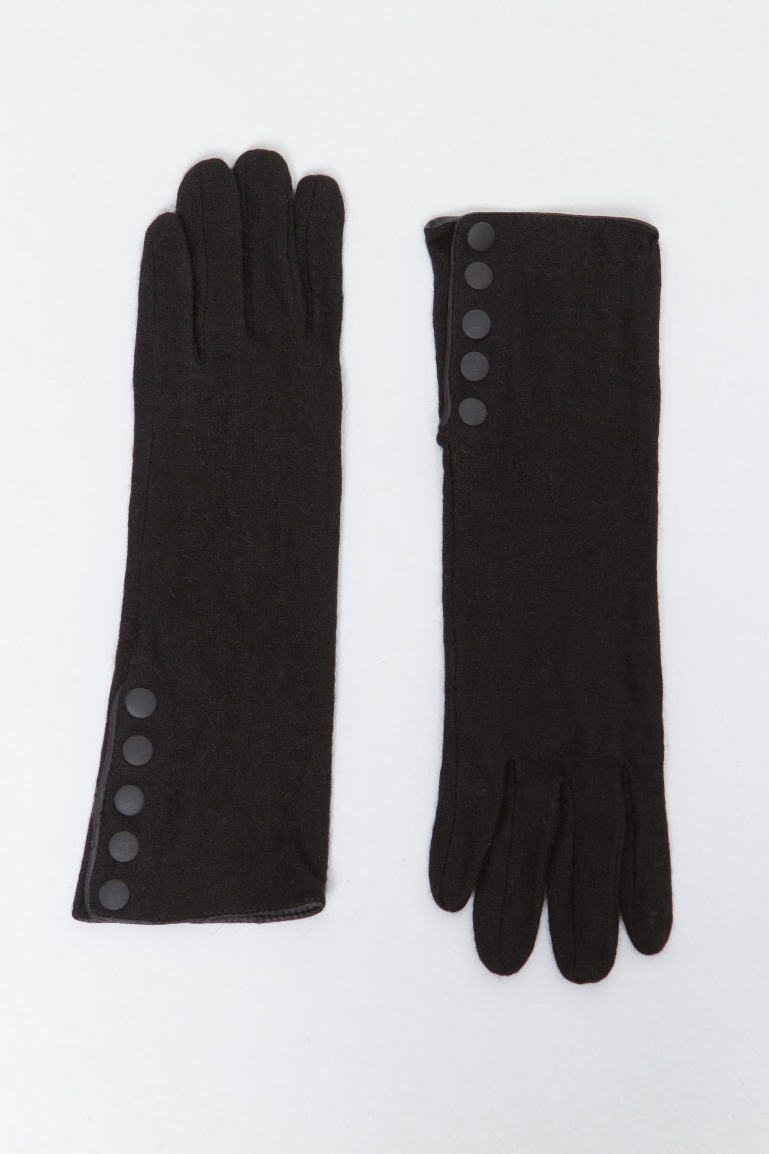 Перчатки женские из текстиля