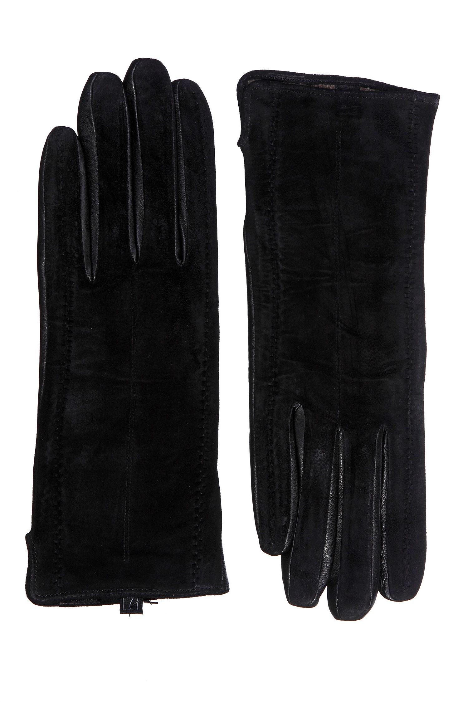 Купить со скидкой Перчатки женские из натуральной замши