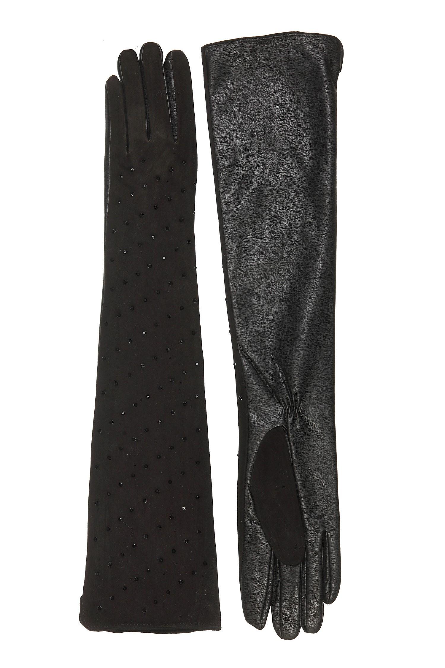 Купить со скидкой Перчатки женские из натуральной кожи
