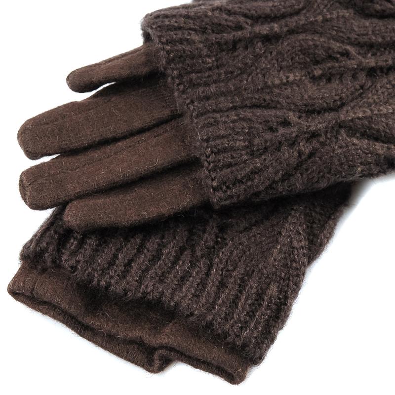 Перчатки женские текстильные от Московская Меховая Компания
