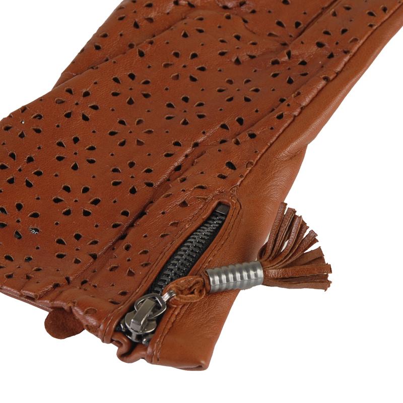 Перчатки женские из кожи от Московская Меховая Компания