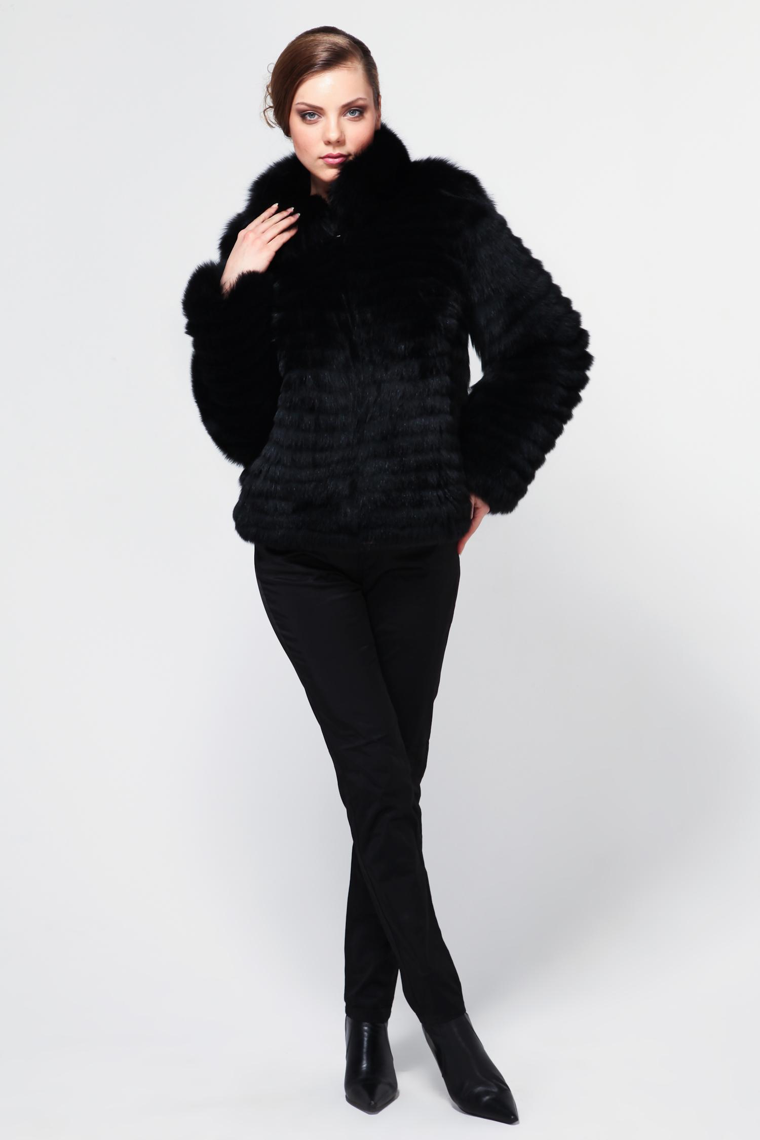 Куртка из песца с воротником от Московская Меховая Компания