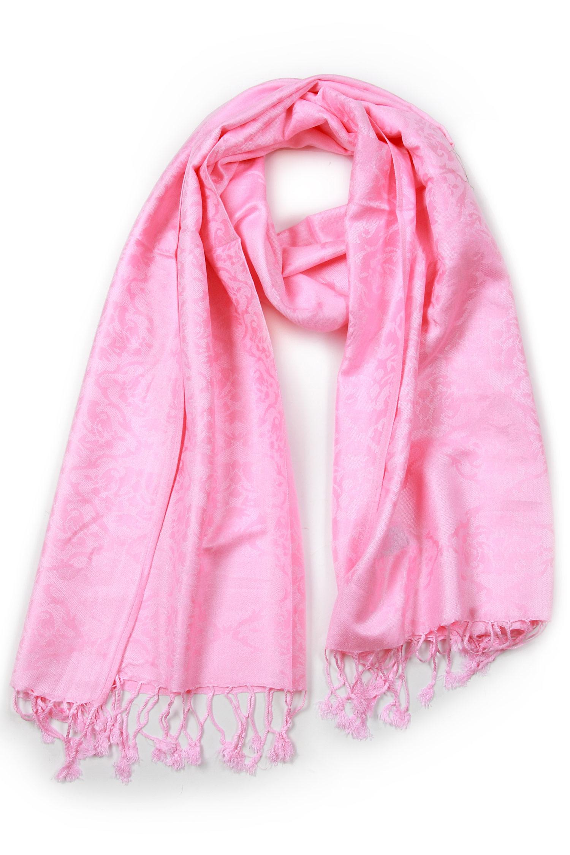 Платок из пашмина<br><br>Материал: Текстиль<br>Цвет: розовый<br>Пол: Женский