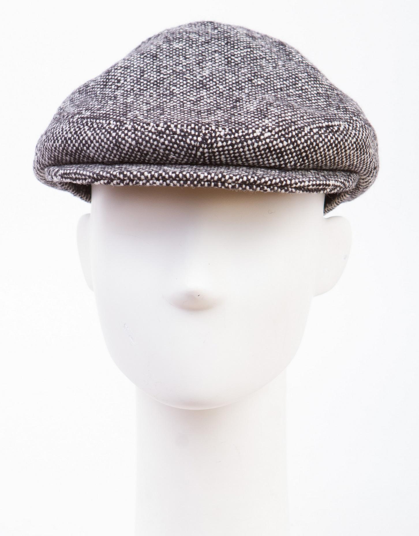 Кепка мужская из текстиля, без отделки
