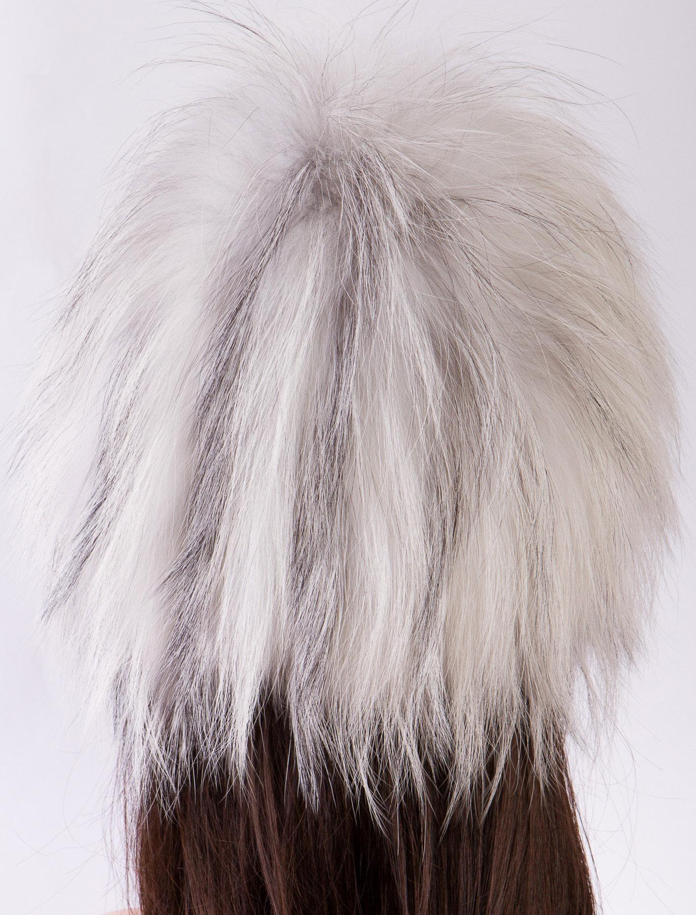 Шапка женская из лисы, без отделки от Московская Меховая Компания