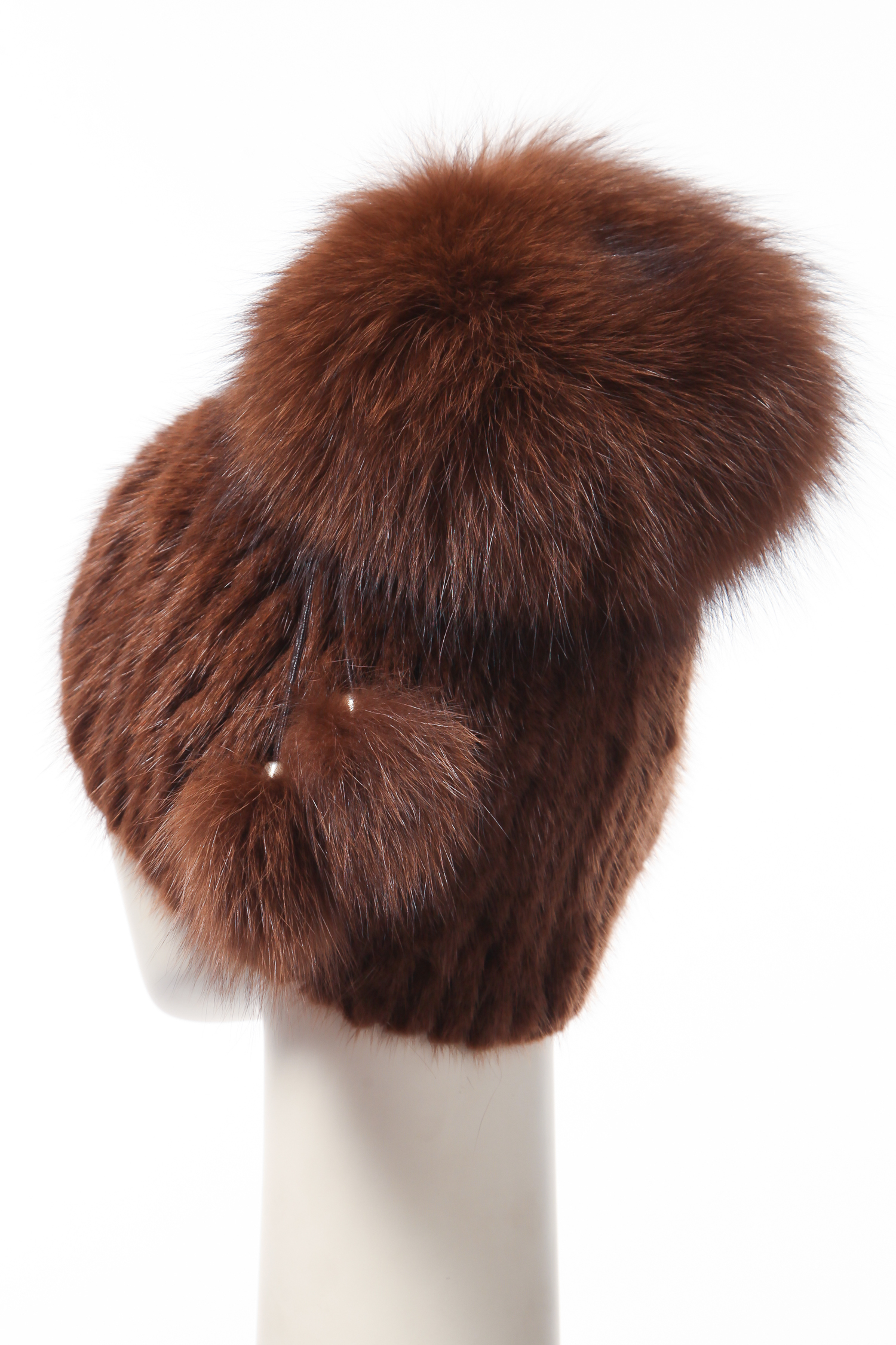 Шапка женская из ондатры от Московская Меховая Компания