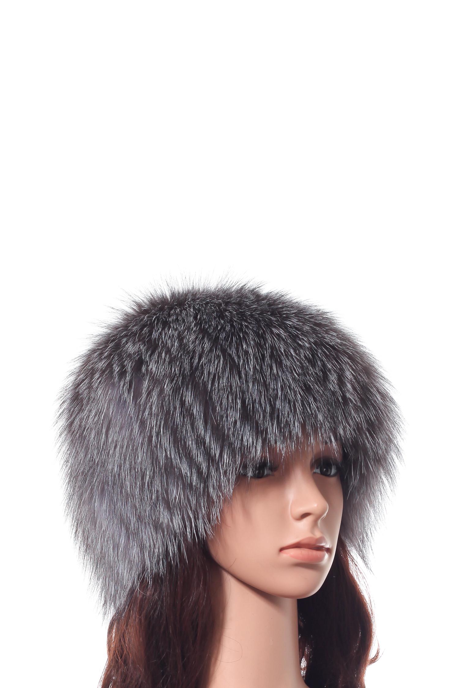 Шапка женская из блюфроста от Московская Меховая Компания