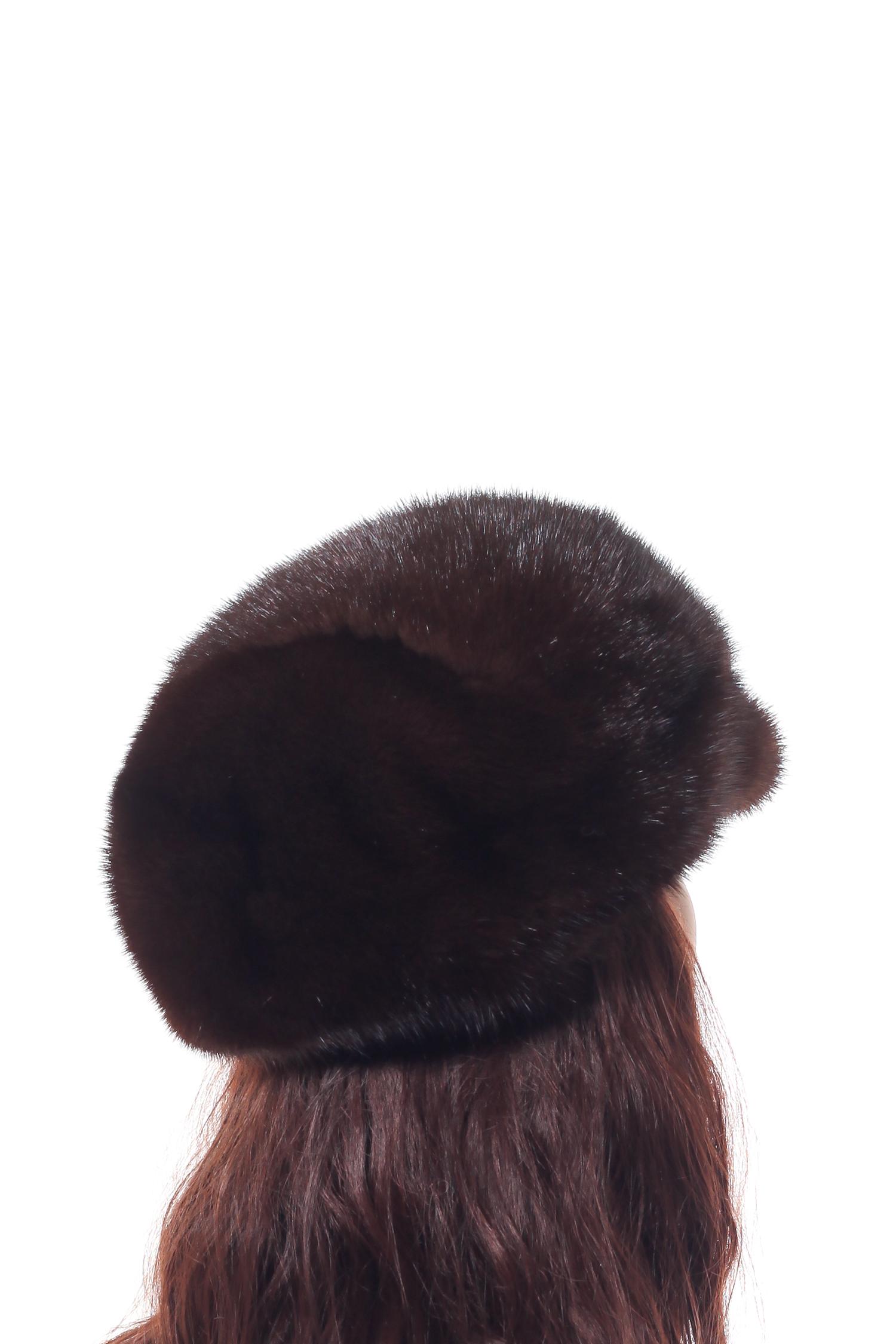 Шапка женская из норки
