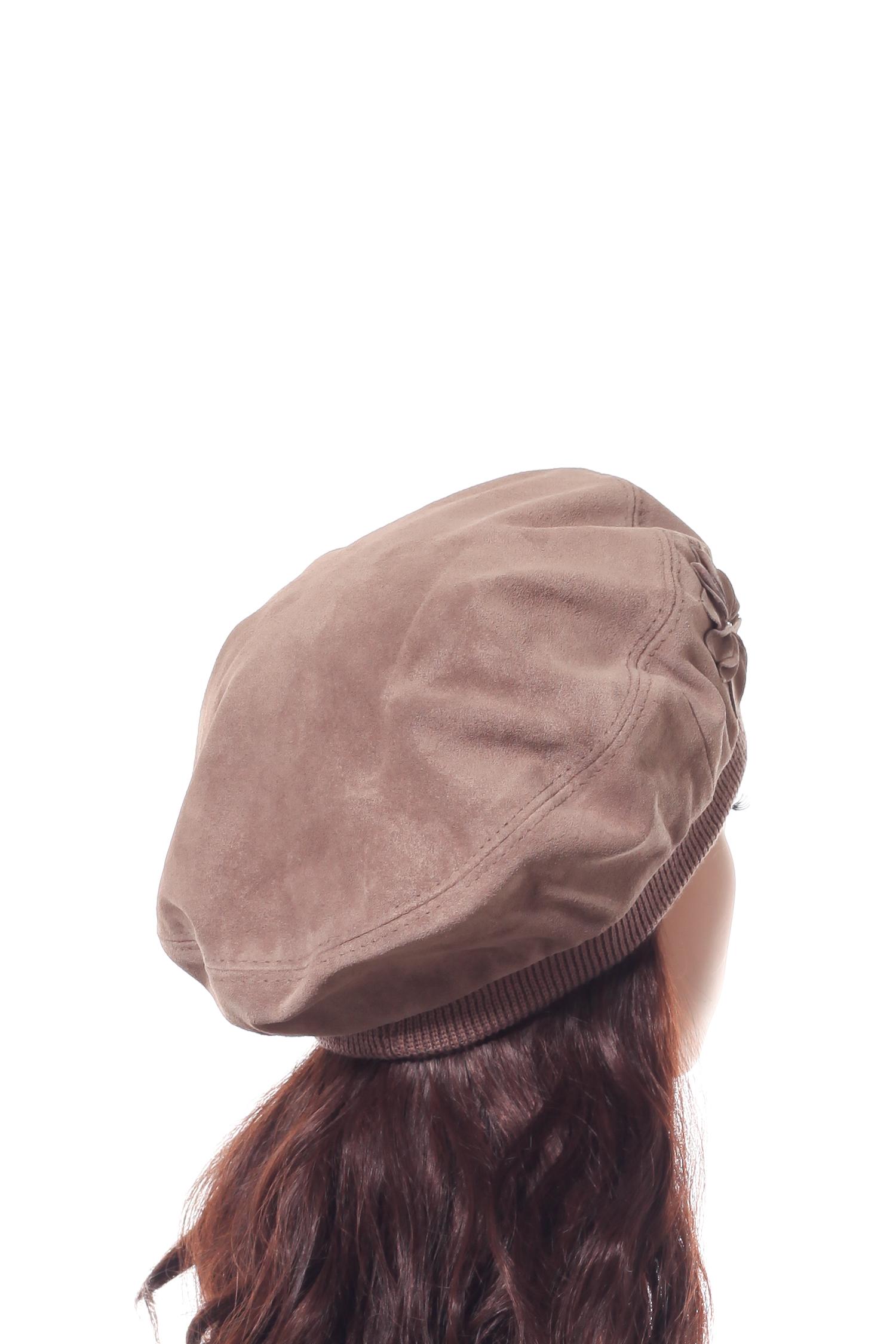 Шапка женская из замши от Московская Меховая Компания