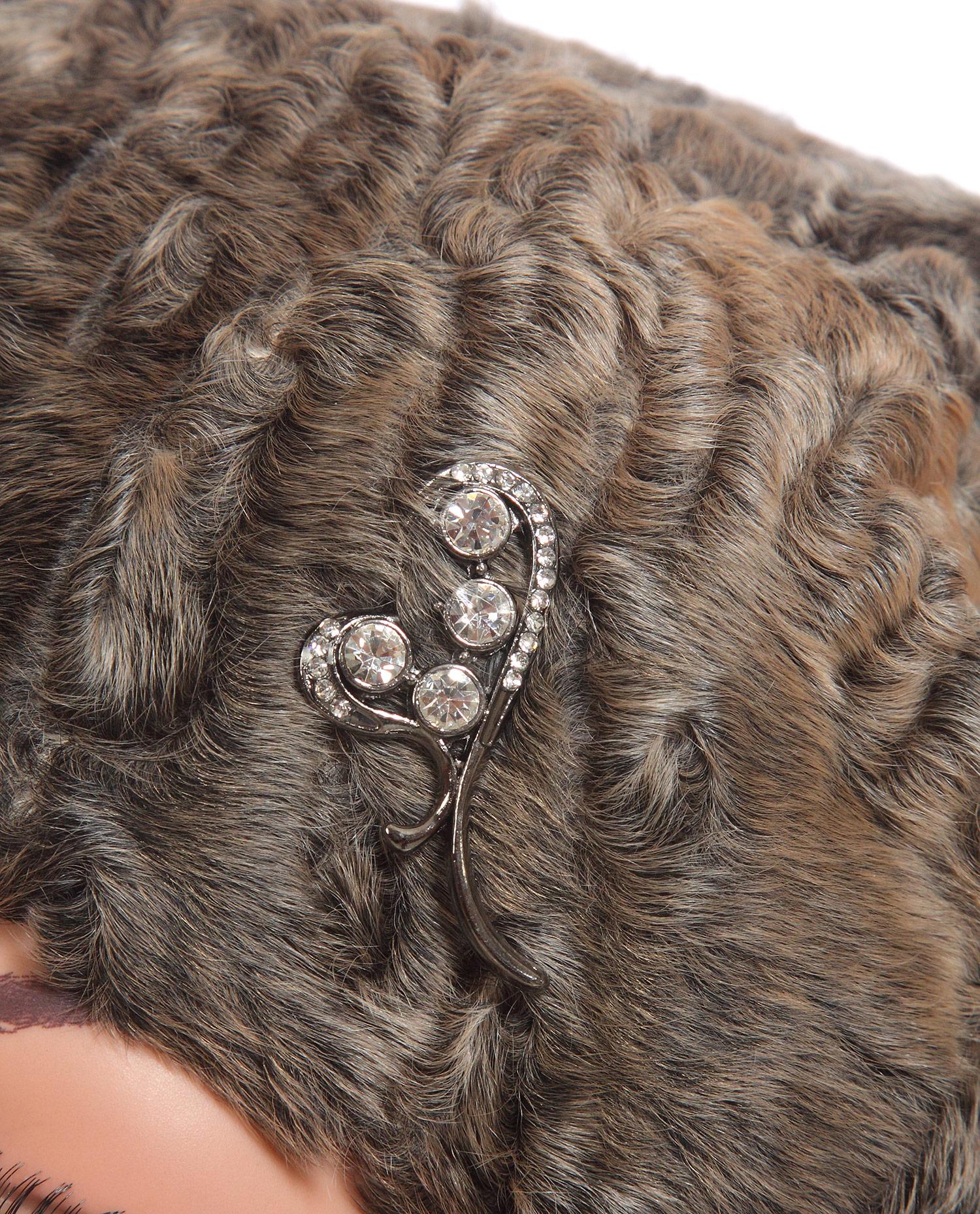 Шапка женская из каракуля от Московская Меховая Компания