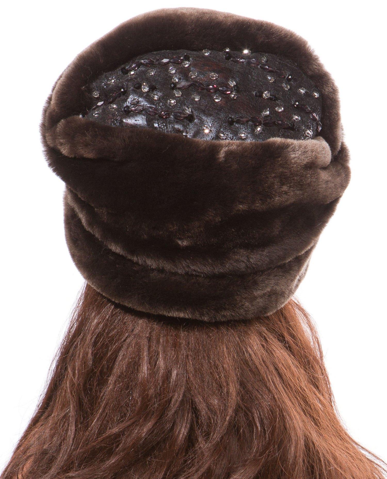 Шапка женская из мутона от Московская Меховая Компания
