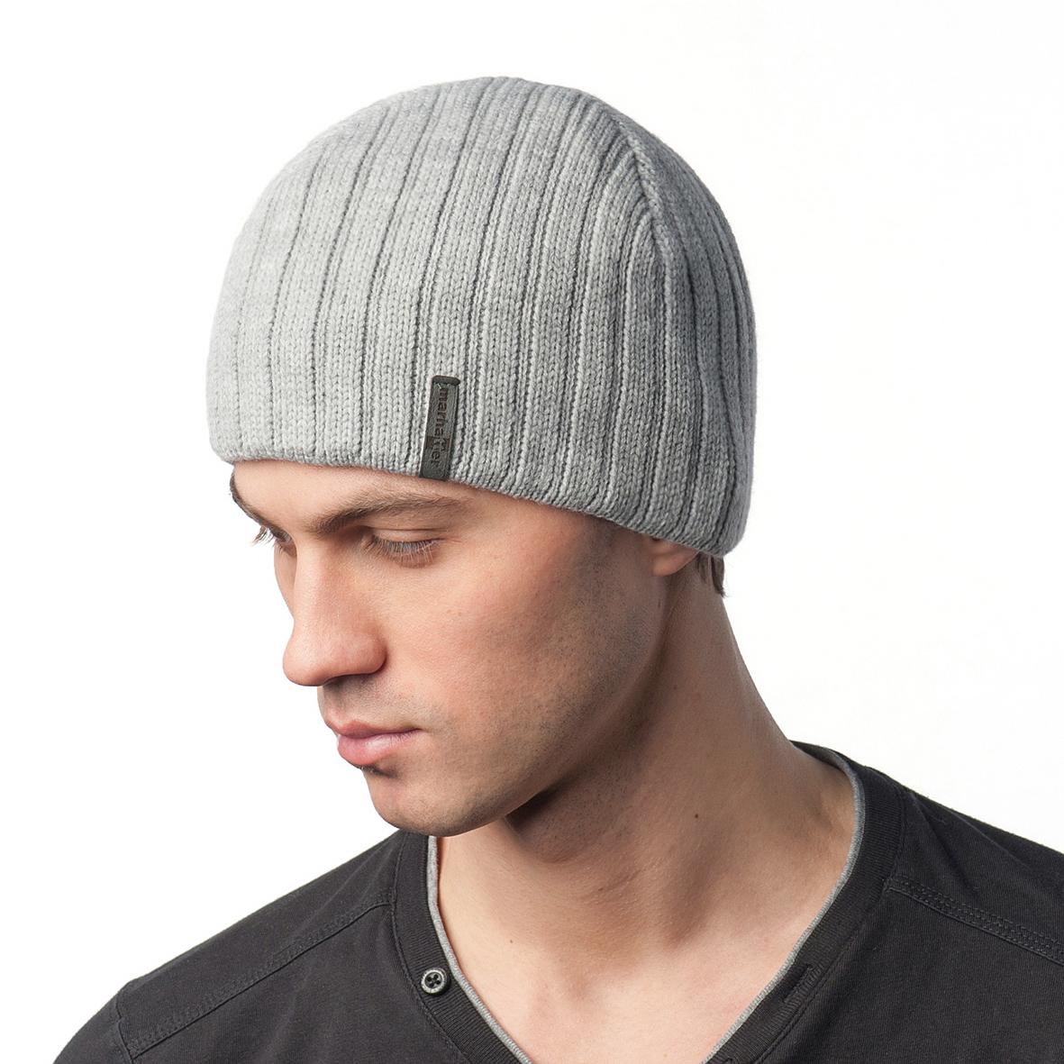 Шапка мужская из текстиля от Московская Меховая Компания