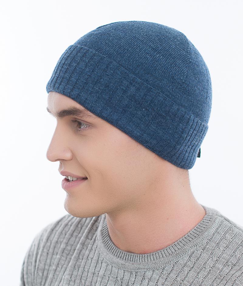 Шапка мужская из текстиля